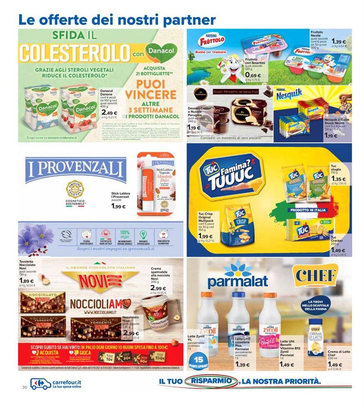 Volantino Carrefour - Offerte 26/02-07/03/2021 (Pagina 30)