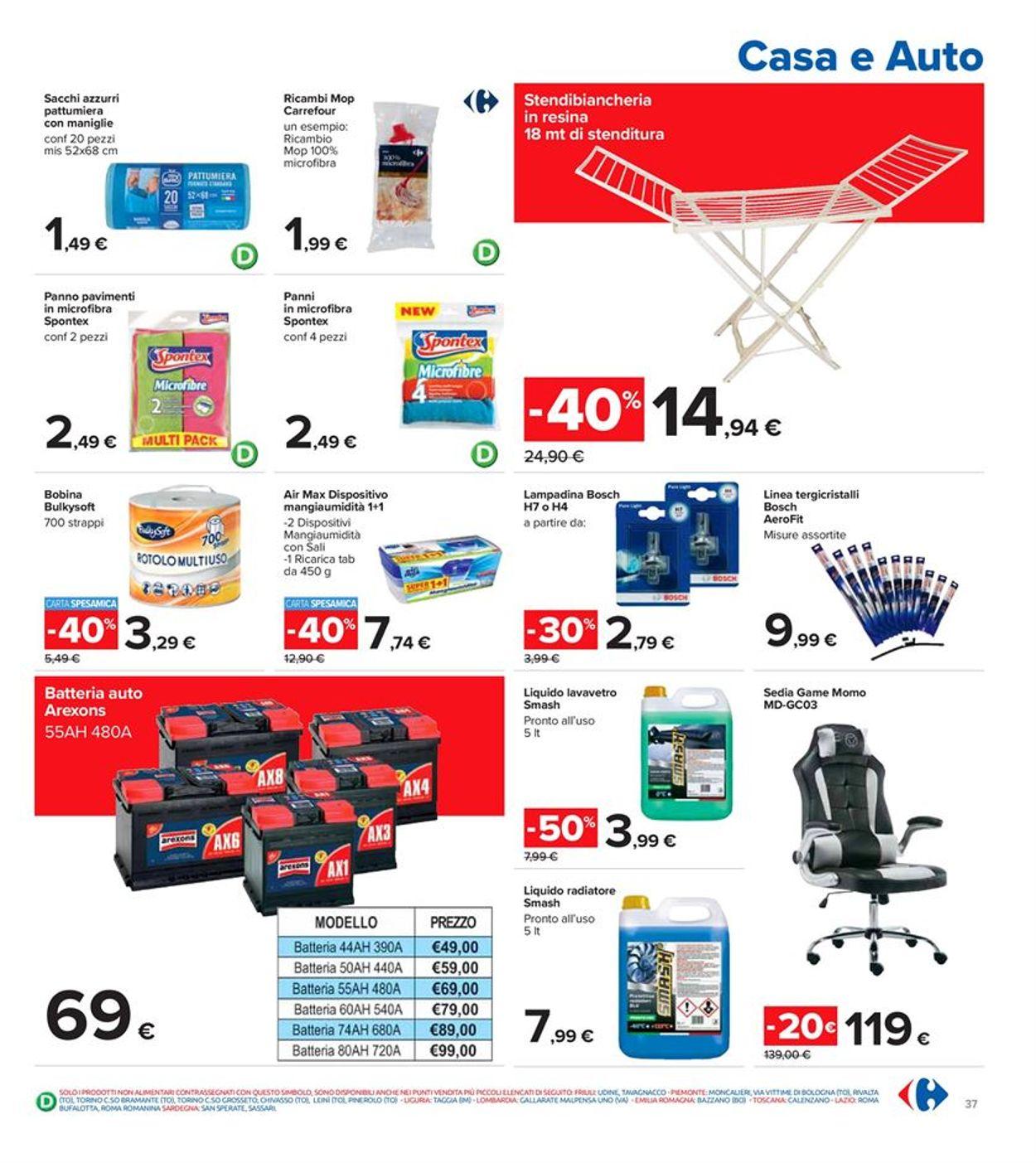 Volantino Carrefour - Offerte 26/02-07/03/2021 (Pagina 37)