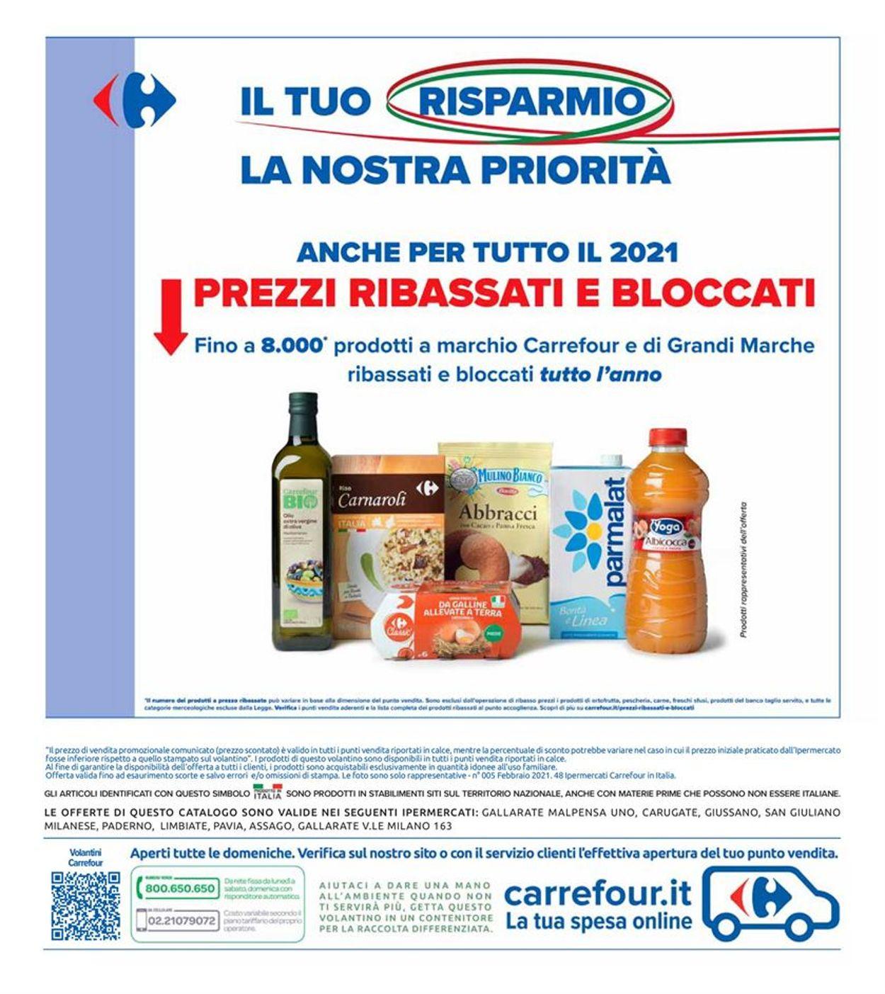 Volantino Carrefour - Offerte 26/02-07/03/2021 (Pagina 40)
