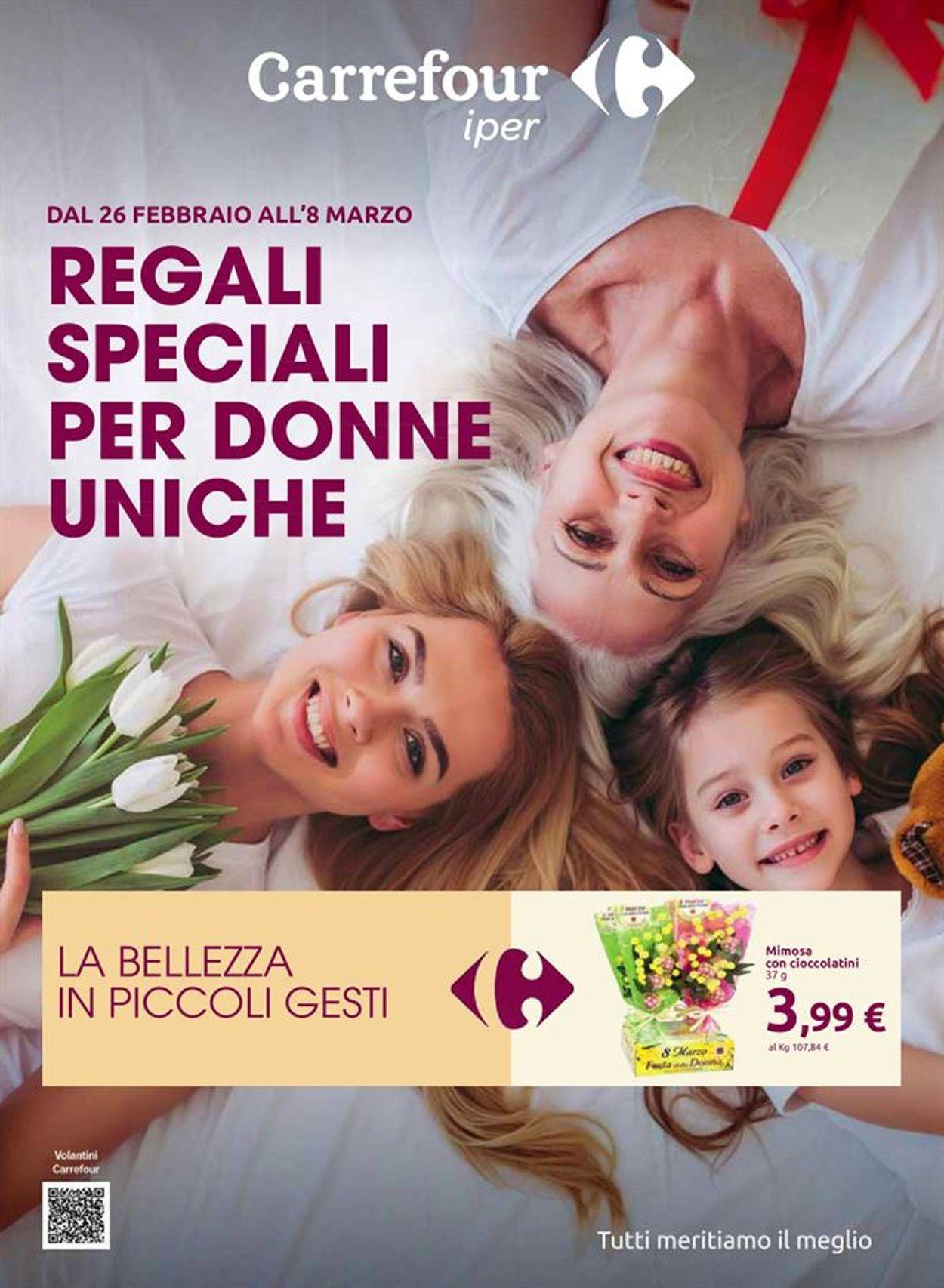 Volantino Carrefour - Offerte 26/02-08/03/2021