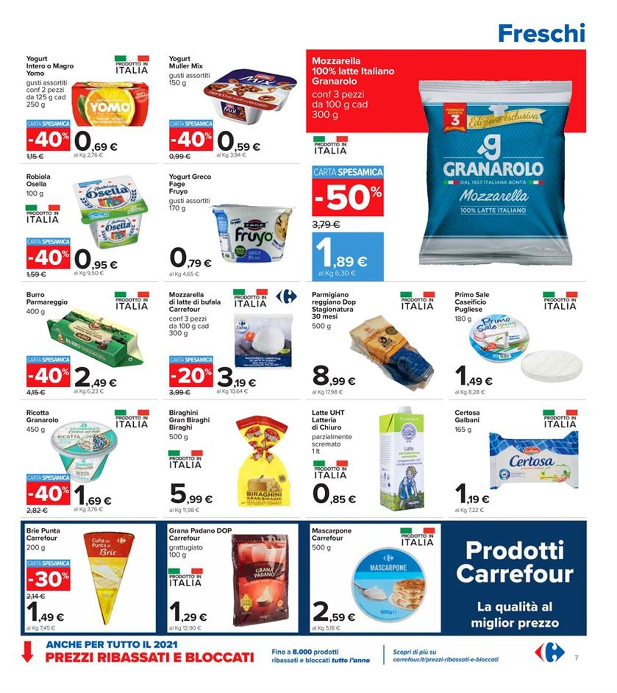 Volantino Carrefour - Offerte 08/03-21/03/2021 (Pagina 7)