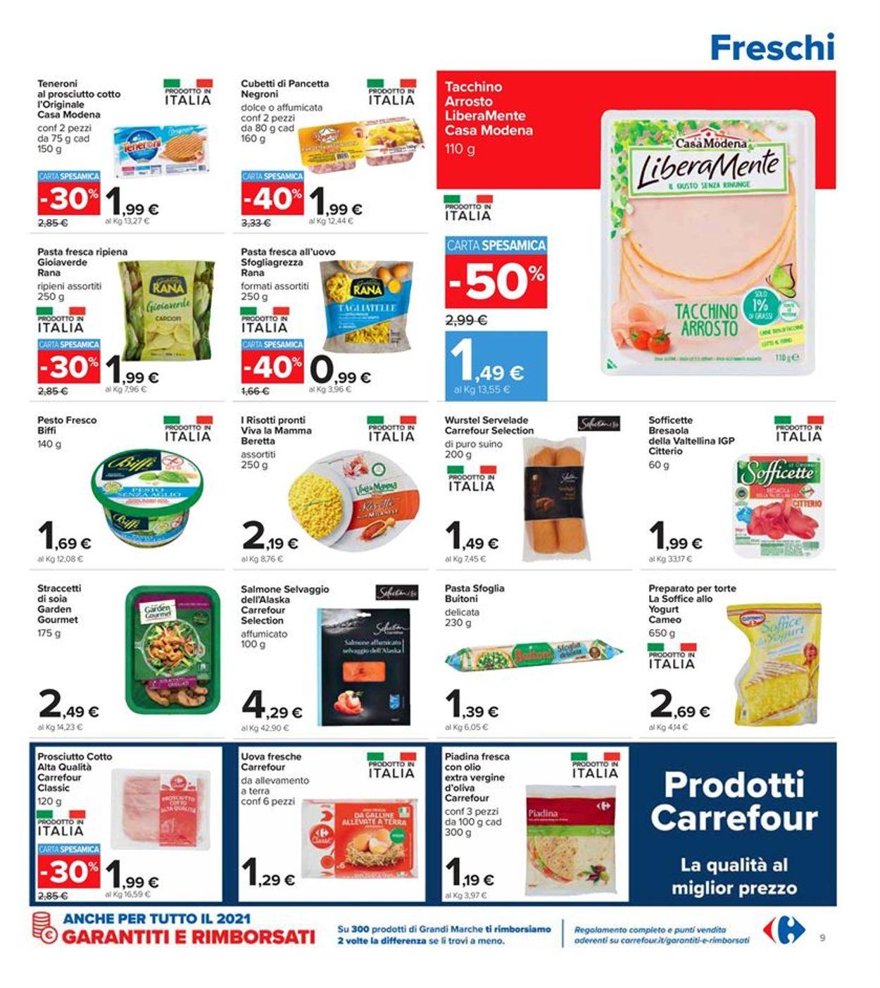 Volantino Carrefour - Offerte 08/03-21/03/2021 (Pagina 9)