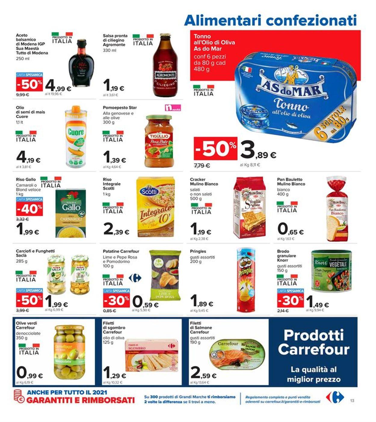 Volantino Carrefour - Offerte 08/03-21/03/2021 (Pagina 13)
