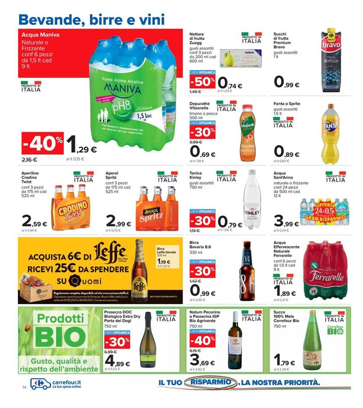 Volantino Carrefour - Offerte 08/03-21/03/2021 (Pagina 14)