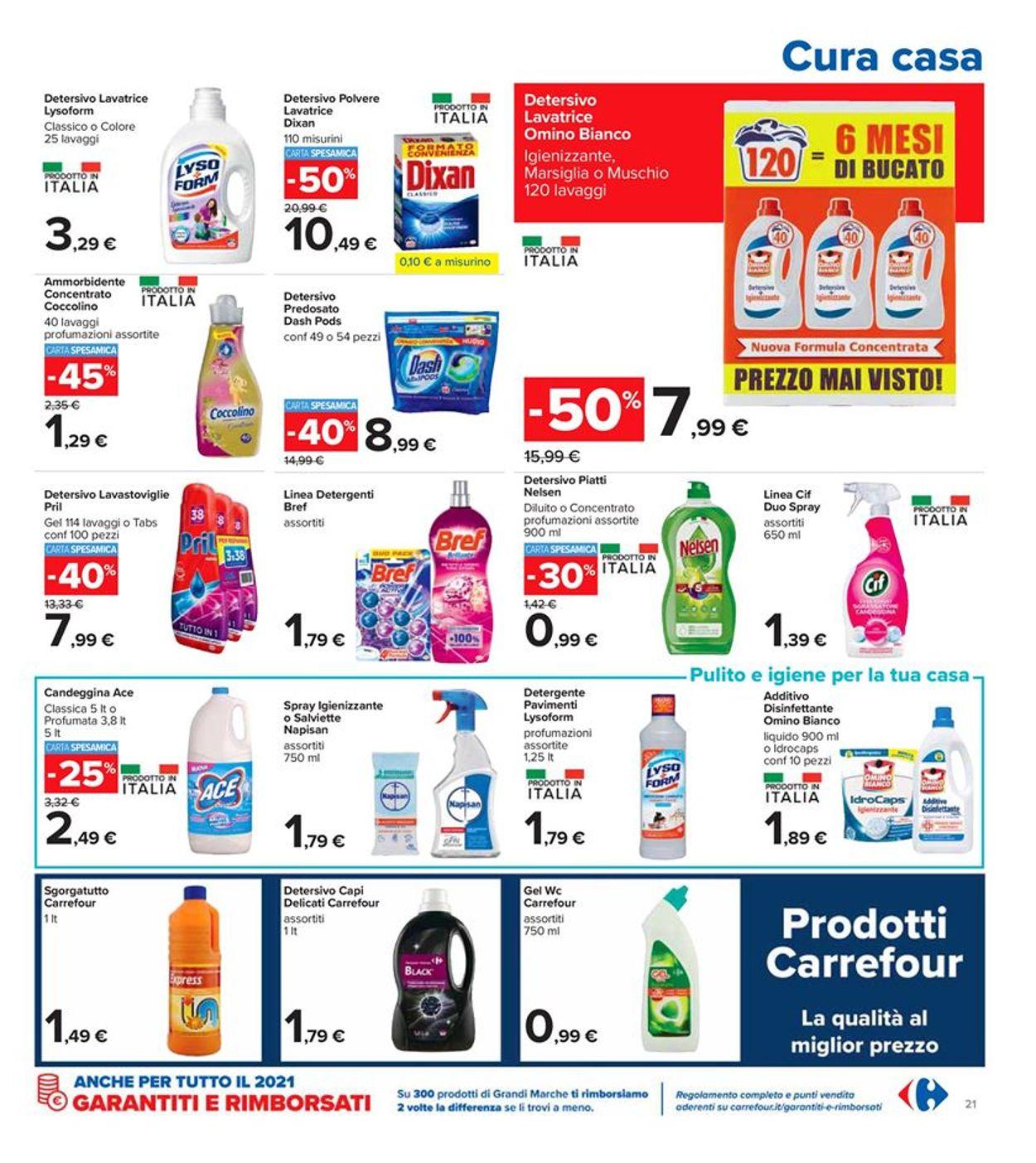 Volantino Carrefour - Offerte 08/03-21/03/2021 (Pagina 21)