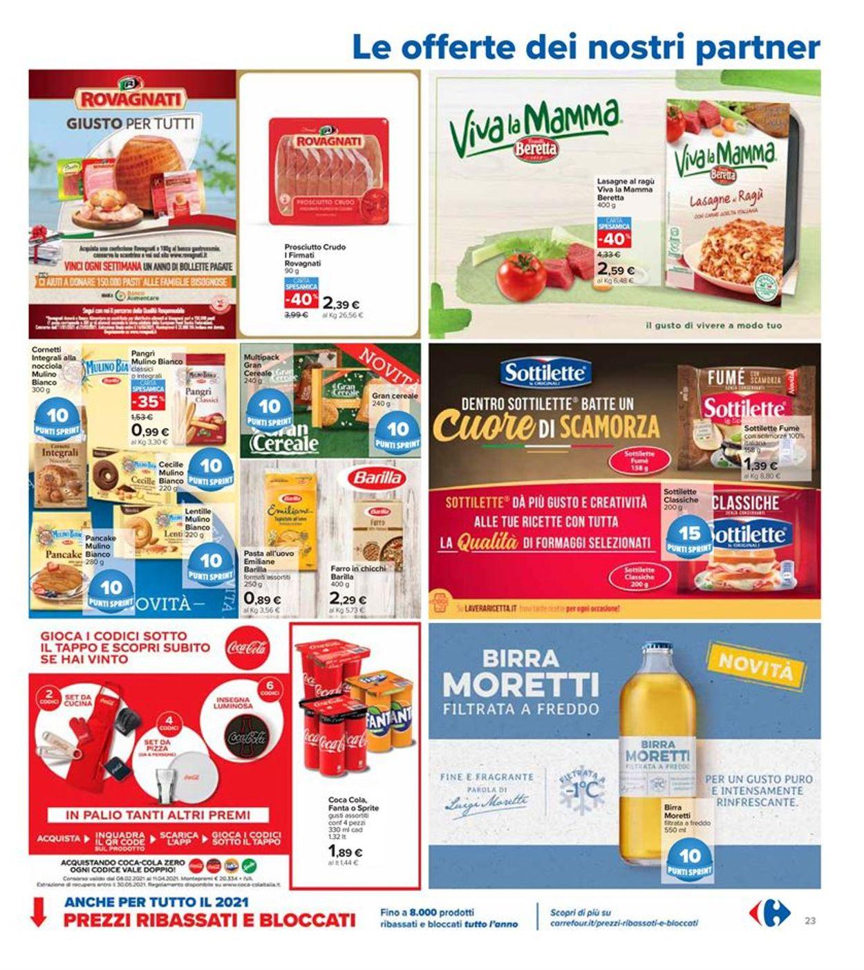 Volantino Carrefour - Offerte 08/03-21/03/2021 (Pagina 23)