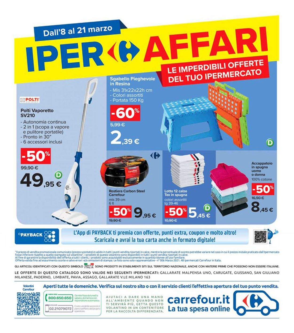 Volantino Carrefour - Offerte 08/03-21/03/2021 (Pagina 36)