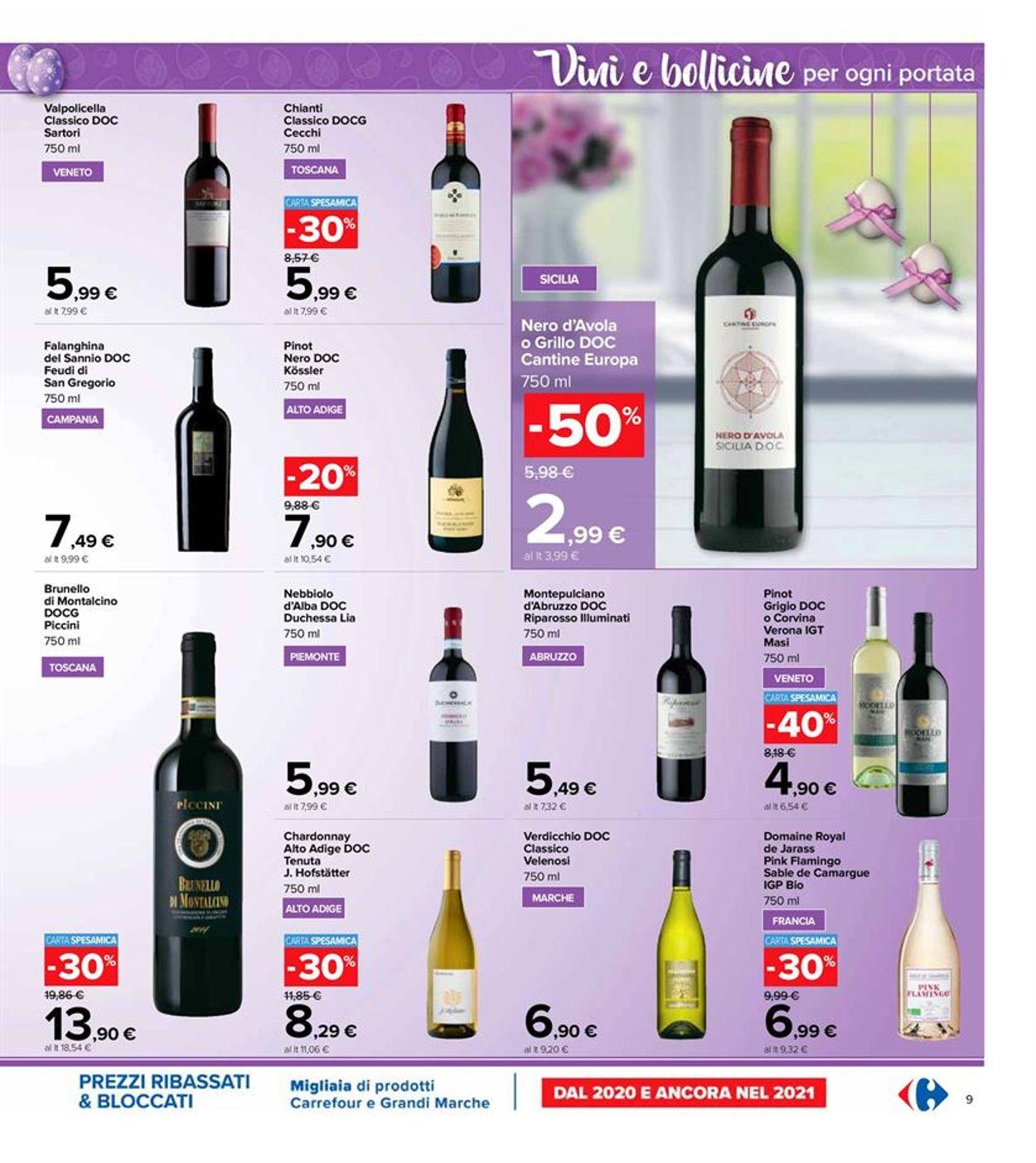 Volantino Carrefour - Pasqua 2021! - Offerte 22/03-05/04/2021 (Pagina 9)