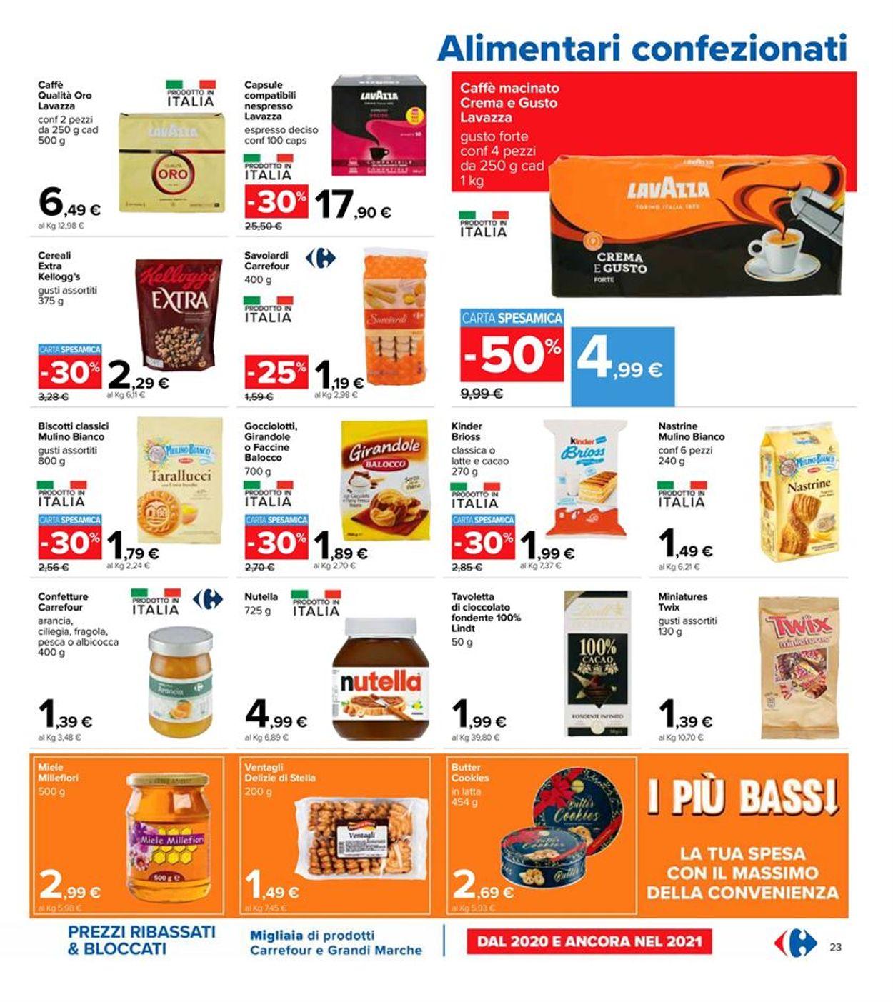 Volantino Carrefour - Pasqua 2021! - Offerte 22/03-05/04/2021 (Pagina 23)