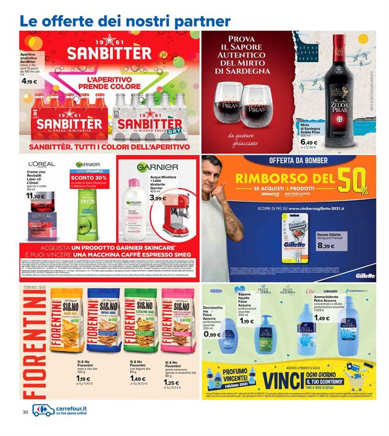 Volantino Carrefour - Pasqua 2021! - Offerte 22/03-05/04/2021 (Pagina 30)