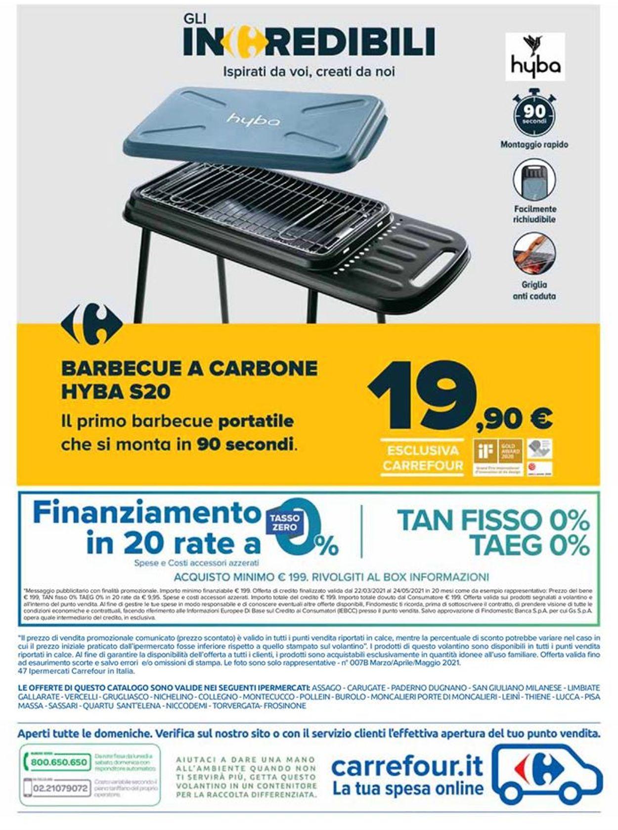 Volantino Carrefour - Offerte 22/03-24/05/2021 (Pagina 40)