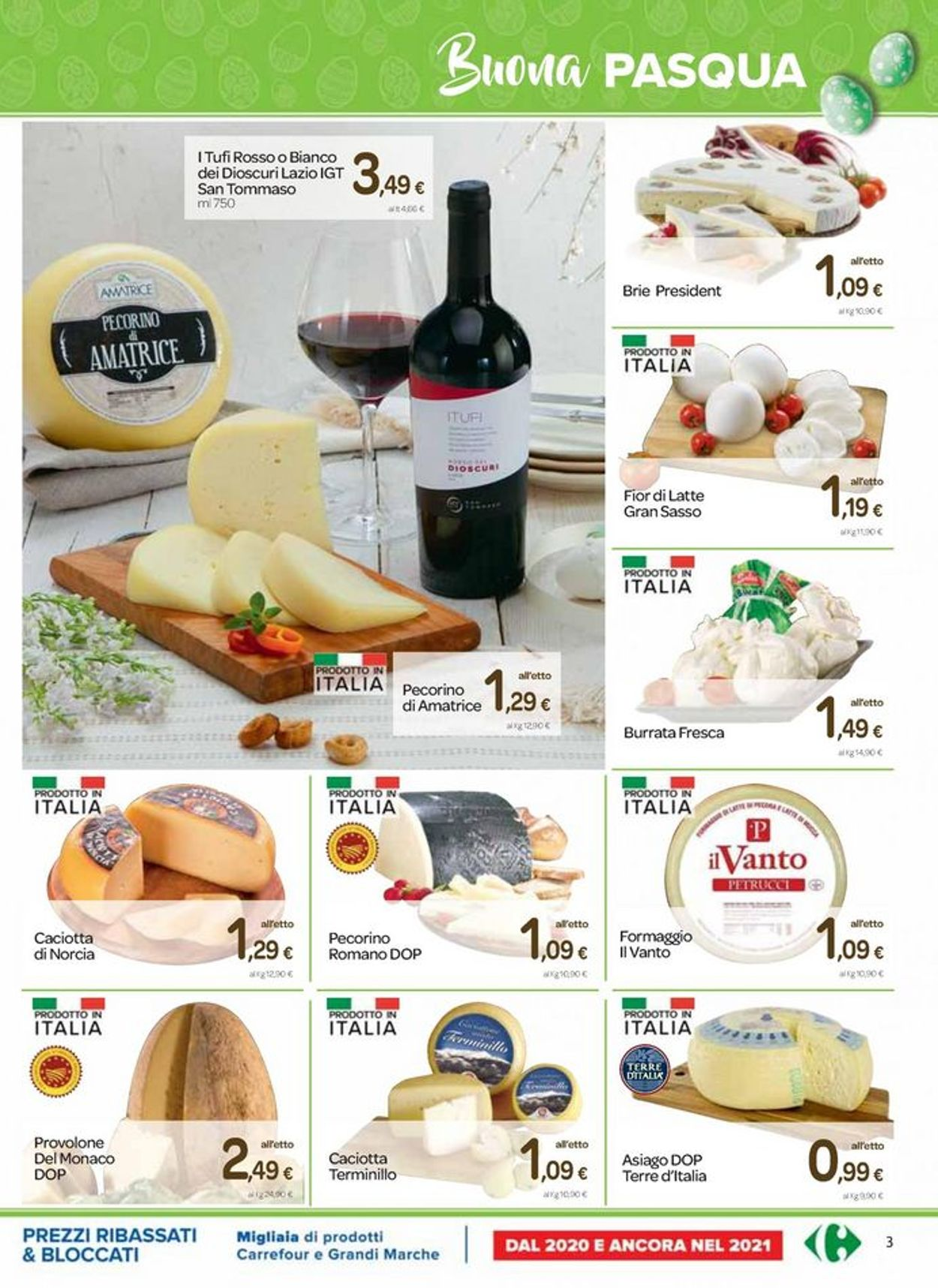 Volantino Carrefour - Pasqua 2021! - Offerte 25/03-05/04/2021 (Pagina 3)