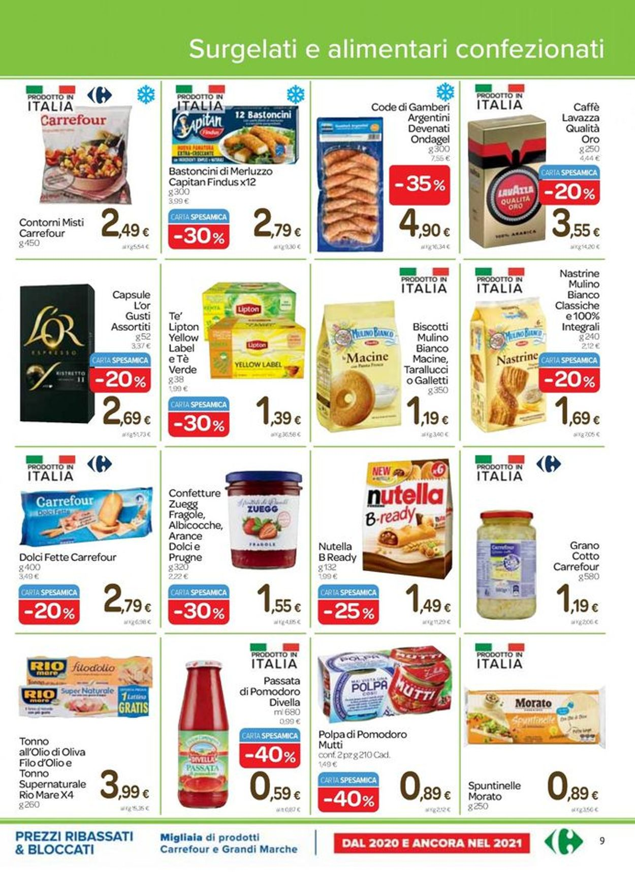 Volantino Carrefour - Pasqua 2021! - Offerte 25/03-05/04/2021 (Pagina 9)