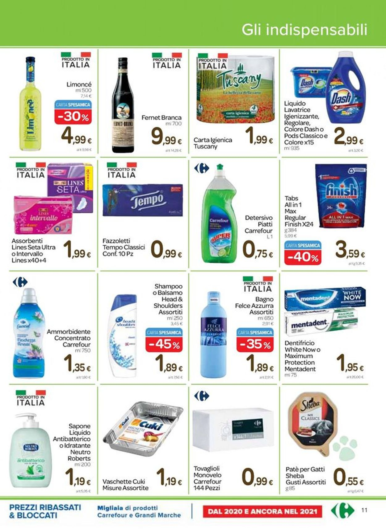 Volantino Carrefour - Pasqua 2021! - Offerte 25/03-05/04/2021 (Pagina 11)