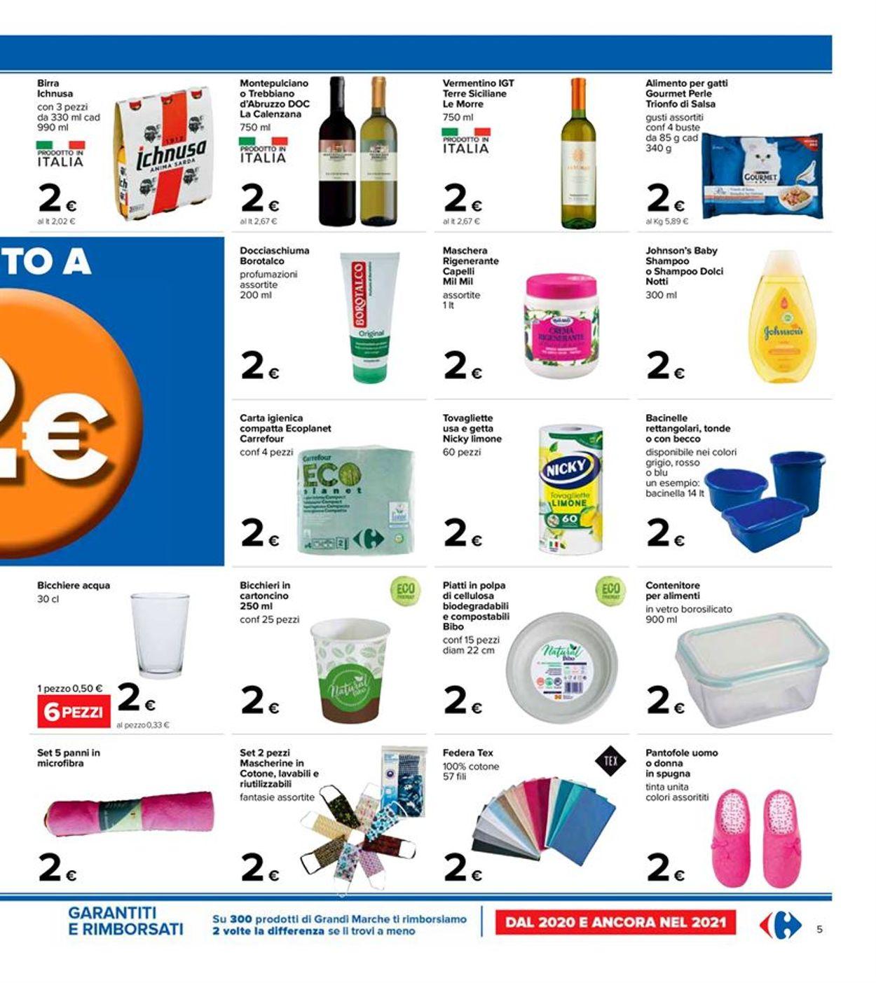 Volantino Carrefour - Offerte 06/04-21/04/2021 (Pagina 5)