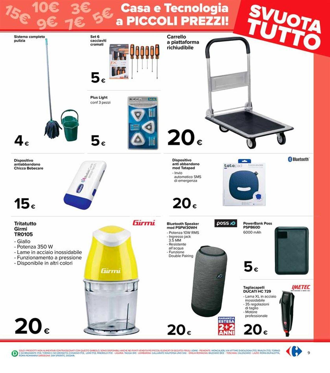 Volantino Carrefour - Offerte 06/04-21/04/2021 (Pagina 9)