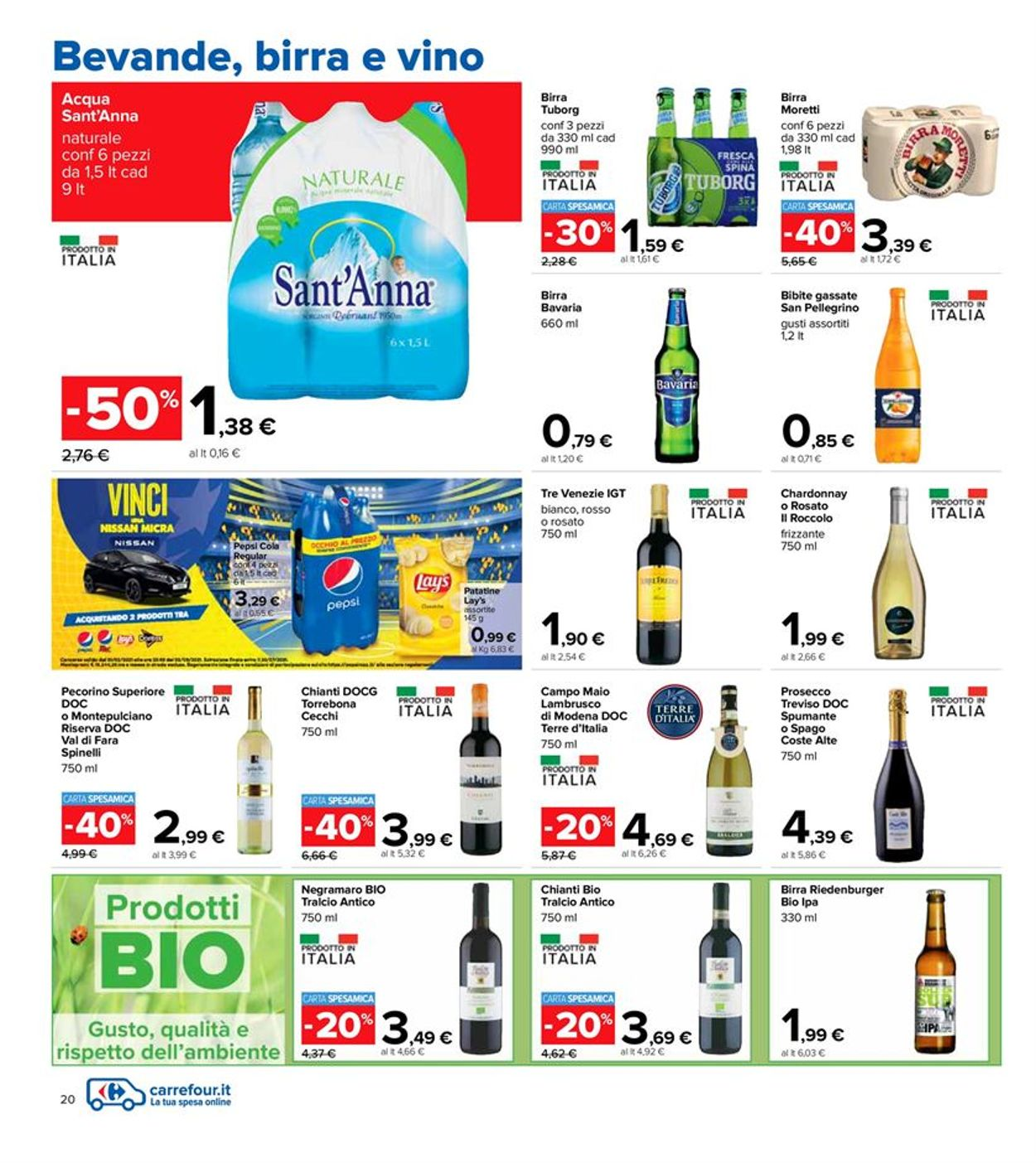 Volantino Carrefour - Offerte 06/04-21/04/2021 (Pagina 20)