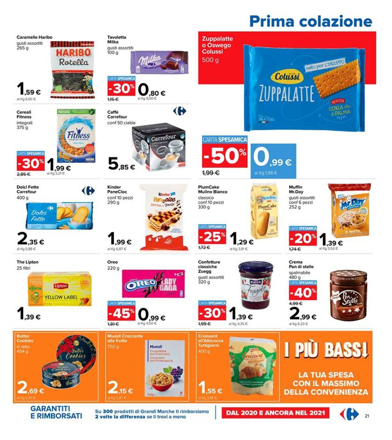 Volantino Carrefour - Offerte 06/04-21/04/2021 (Pagina 21)