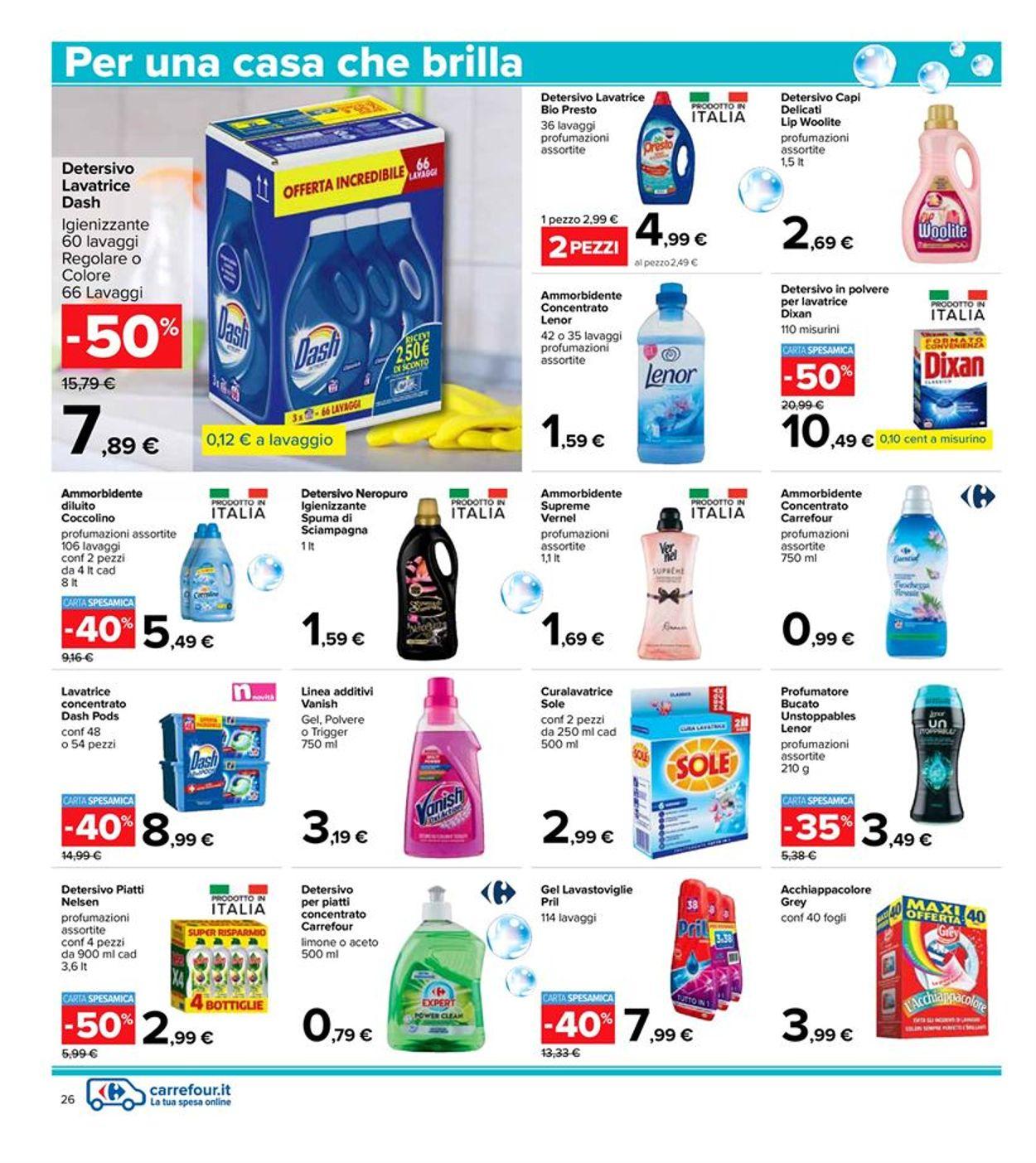 Volantino Carrefour - Offerte 06/04-21/04/2021 (Pagina 26)