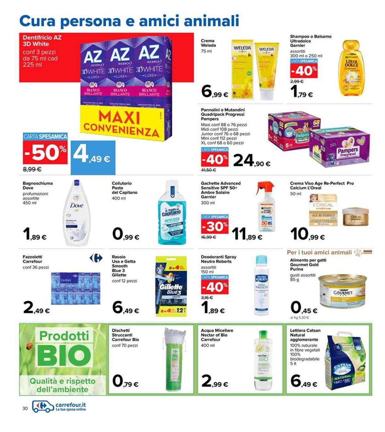 Volantino Carrefour - Offerte 06/04-21/04/2021 (Pagina 30)