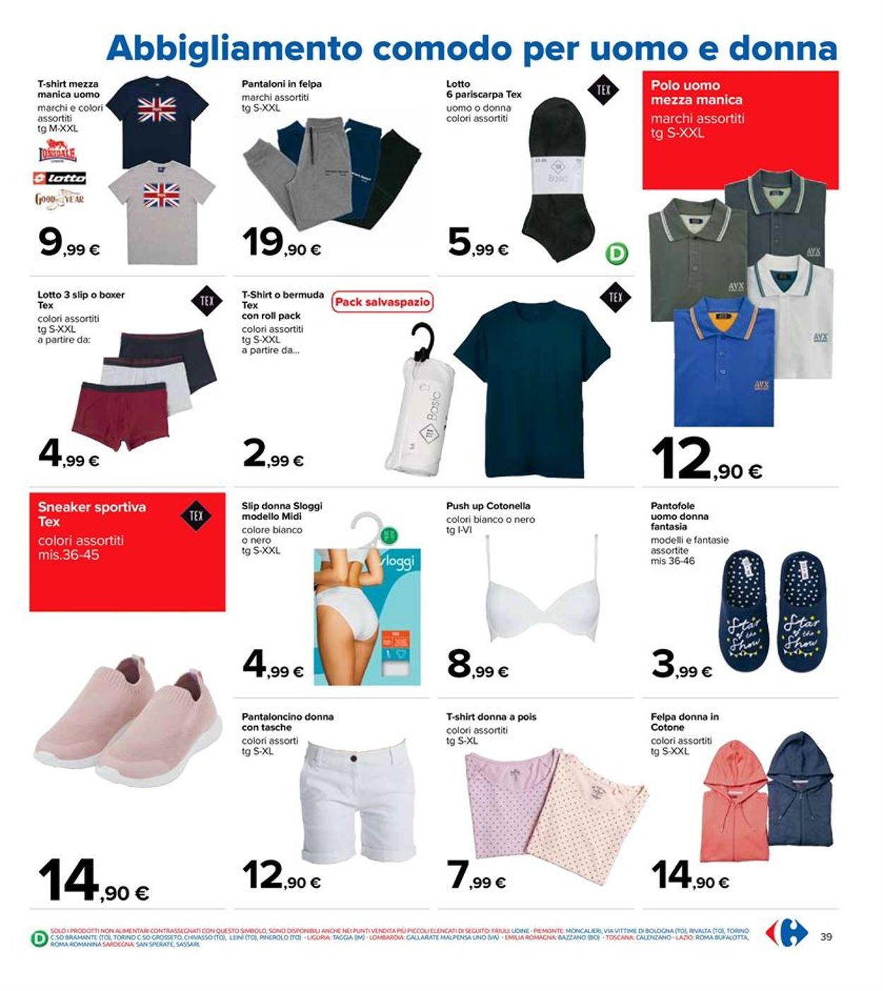 Volantino Carrefour - Offerte 06/04-21/04/2021 (Pagina 39)