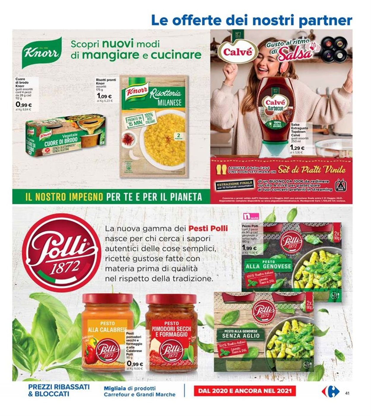Volantino Carrefour - Offerte 06/04-21/04/2021 (Pagina 41)