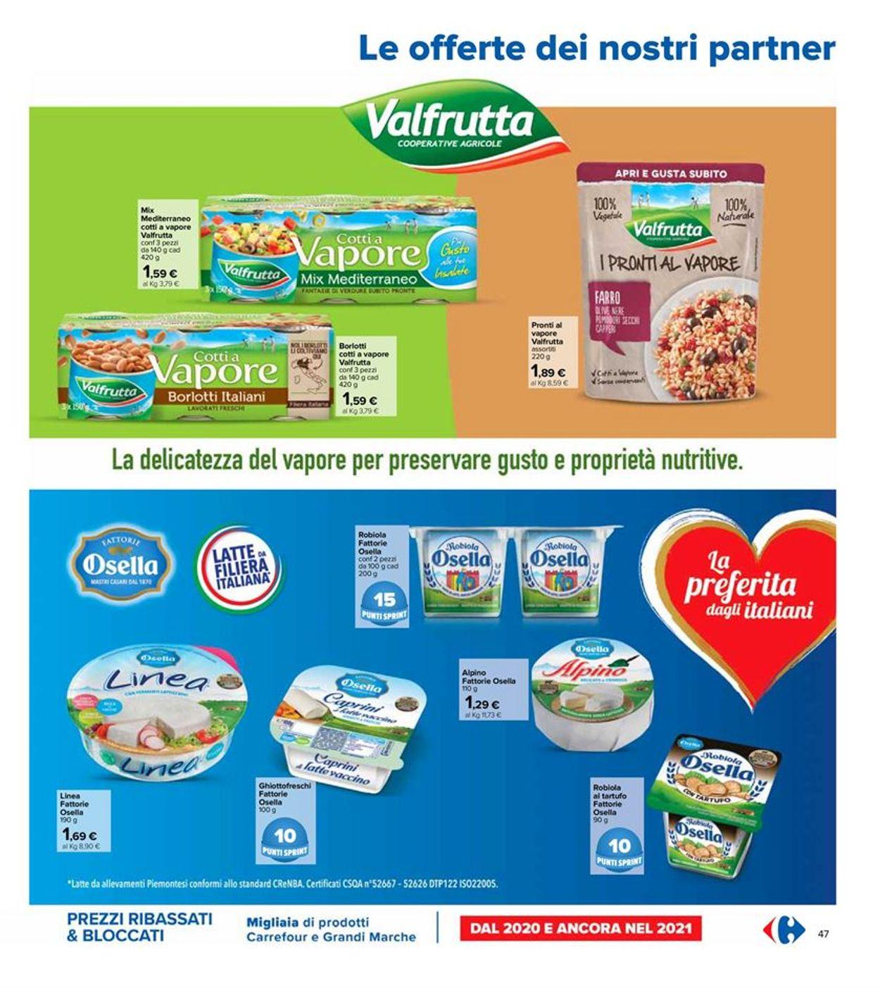 Volantino Carrefour - Offerte 06/04-21/04/2021 (Pagina 47)