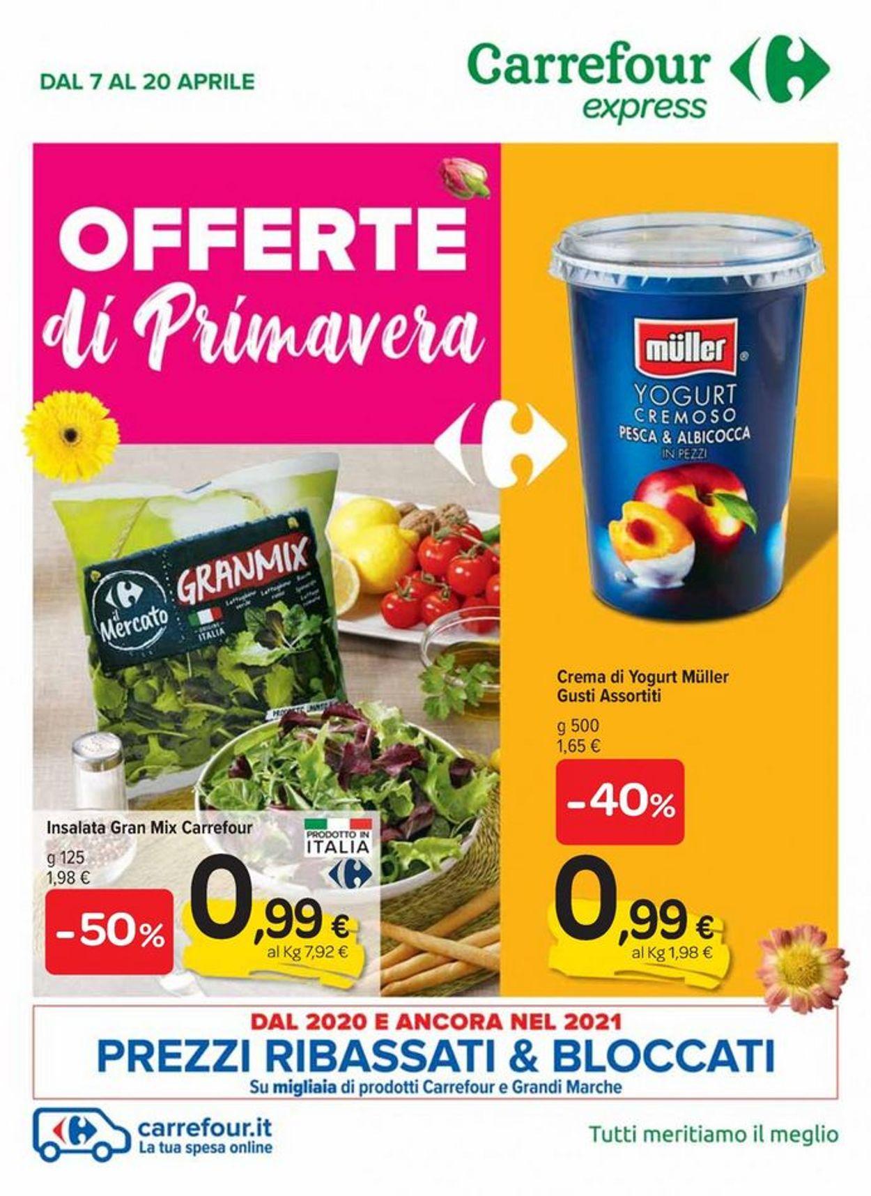 Volantino Carrefour - Offerte 07/04-20/04/2021