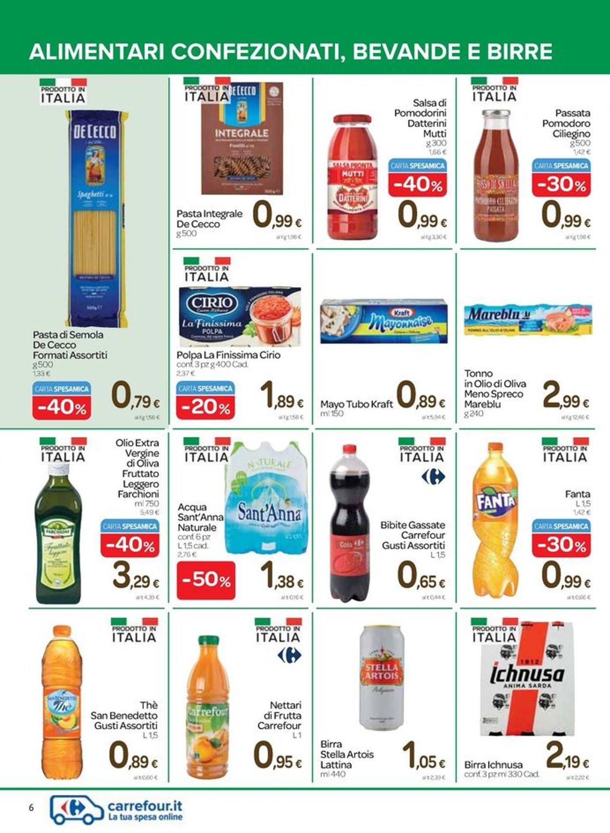 Volantino Carrefour - Offerte 07/04-20/04/2021 (Pagina 6)