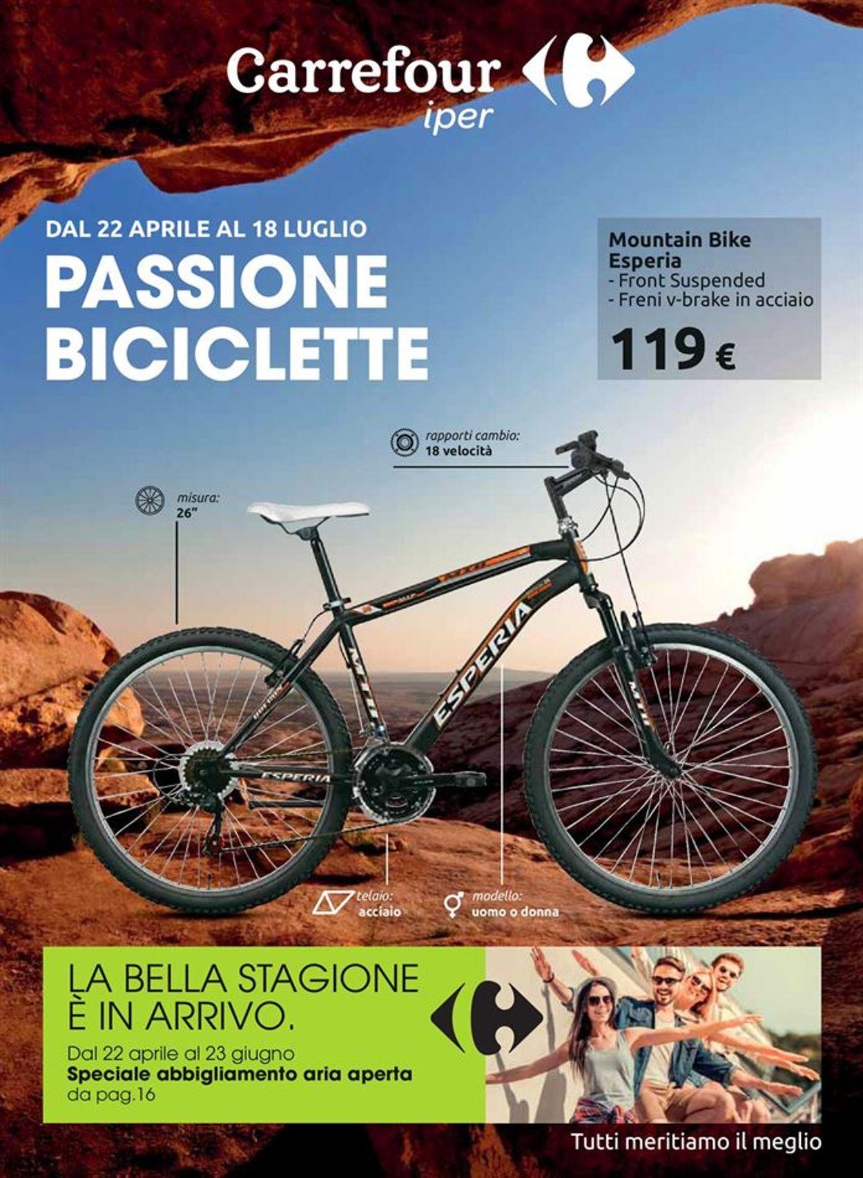Volantino Carrefour - Offerte 22/04-18/07/2021