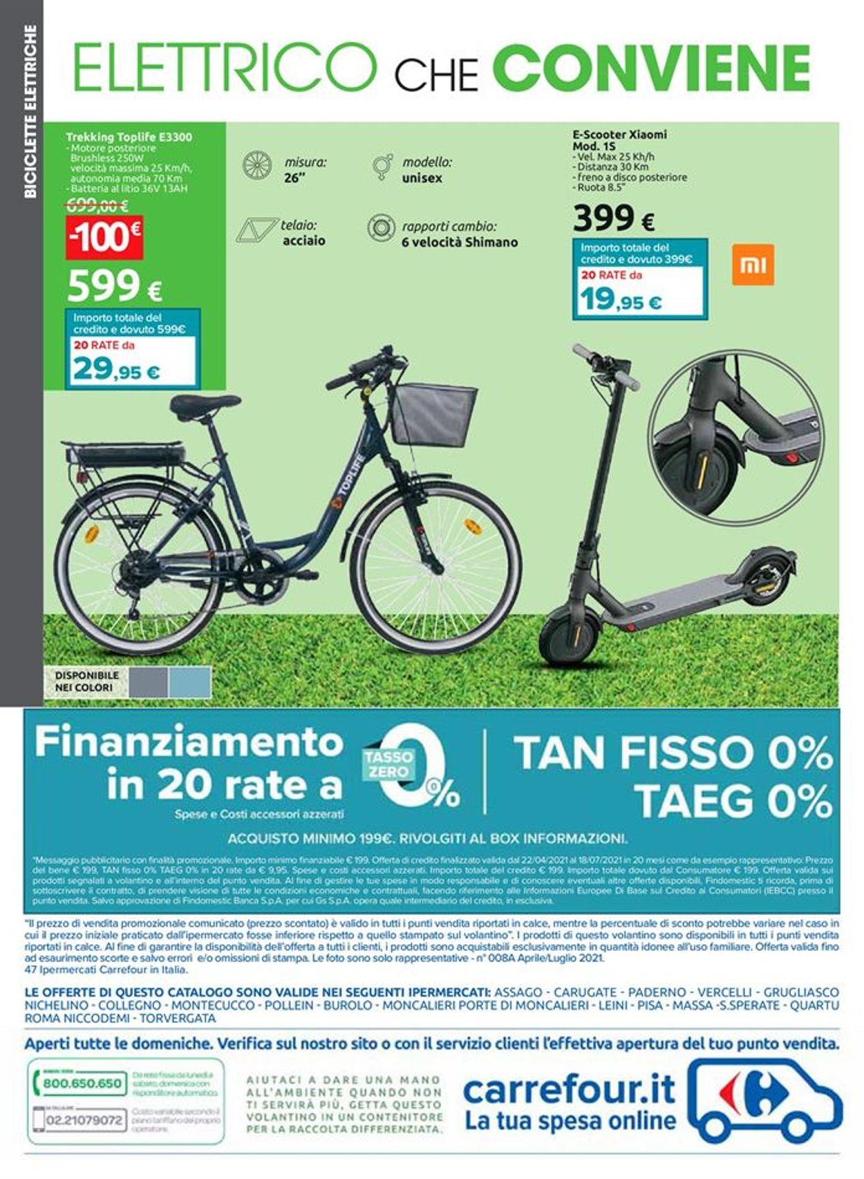 Volantino Carrefour - Offerte 22/04-18/07/2021 (Pagina 24)