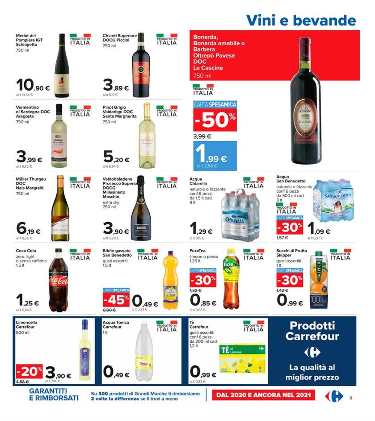 Volantino Carrefour - Offerte 22/04-05/05/2021 (Pagina 9)
