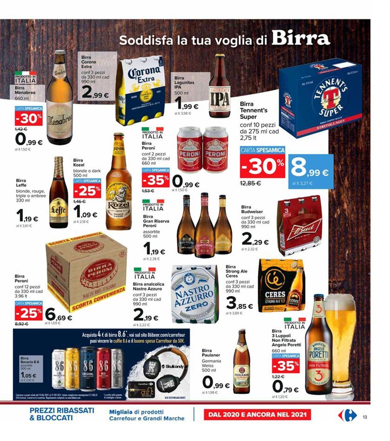 Volantino Carrefour - Offerte 22/04-05/05/2021 (Pagina 13)