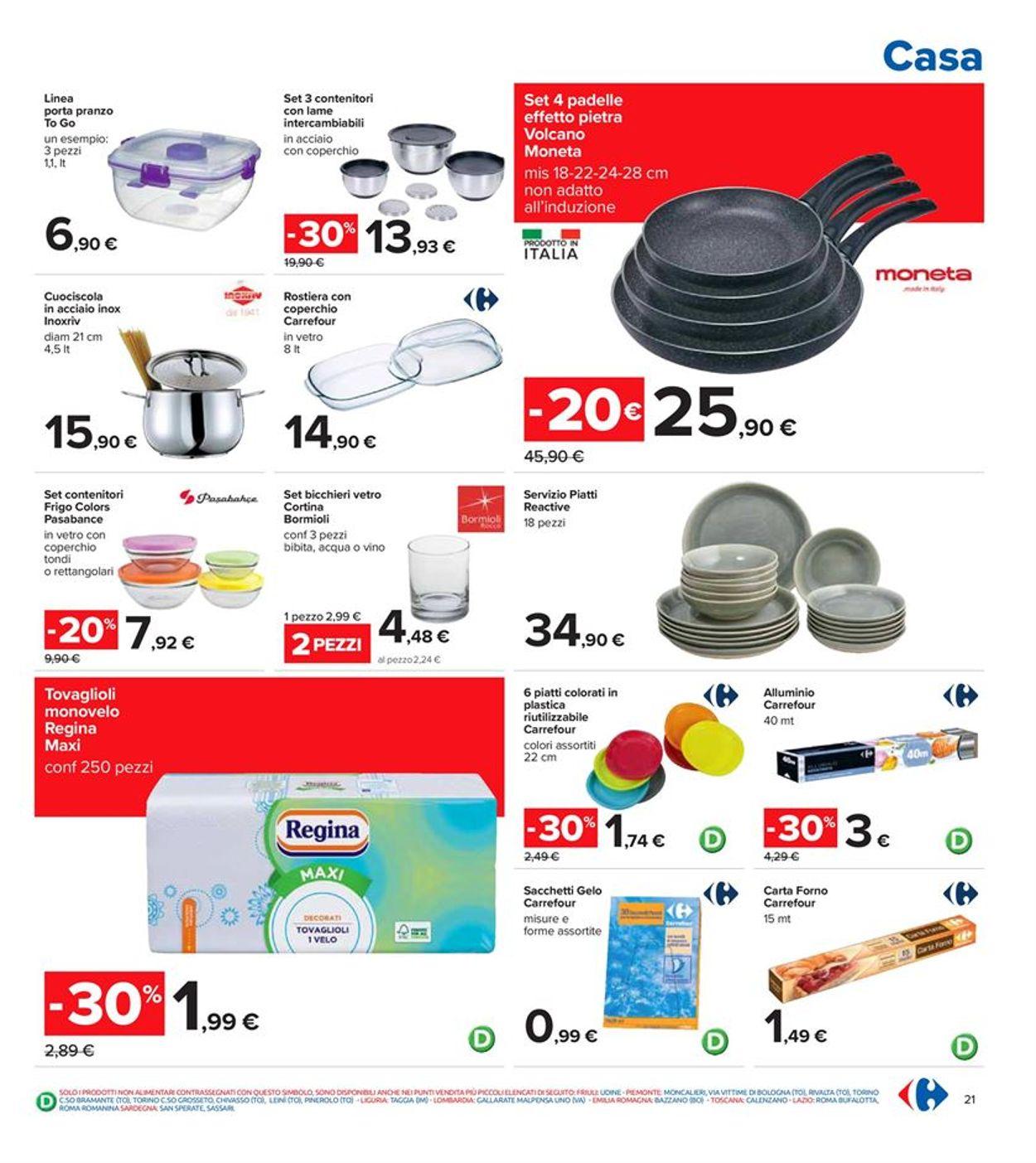 Volantino Carrefour - Offerte 22/04-05/05/2021 (Pagina 21)