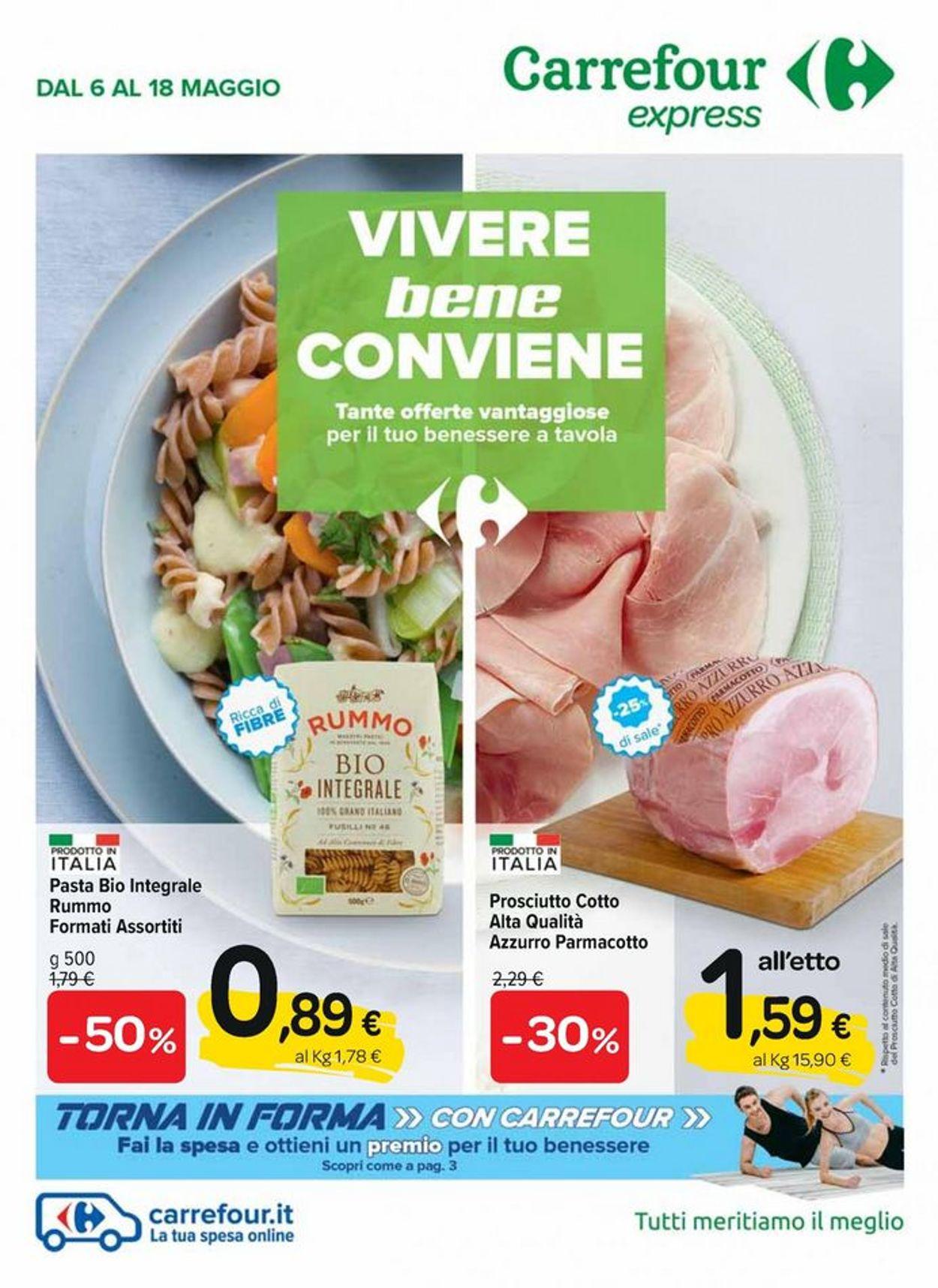 Volantino Carrefour - Offerte 06/05-18/05/2021