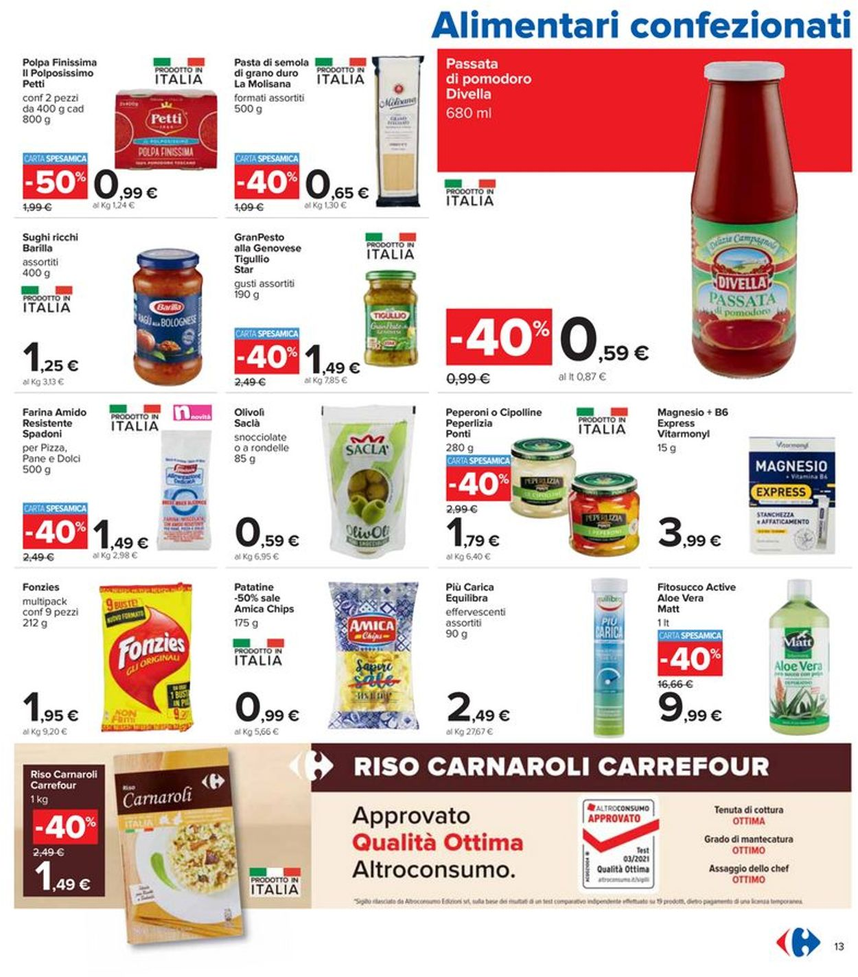 Volantino Carrefour - Offerte 06/05-19/05/2021 (Pagina 13)