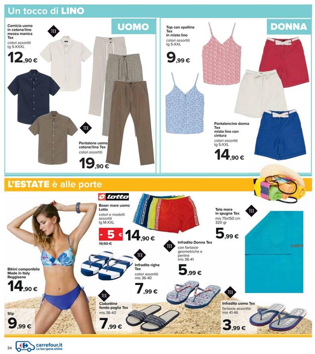 Volantino Carrefour - Offerte 06/05-19/05/2021 (Pagina 34)