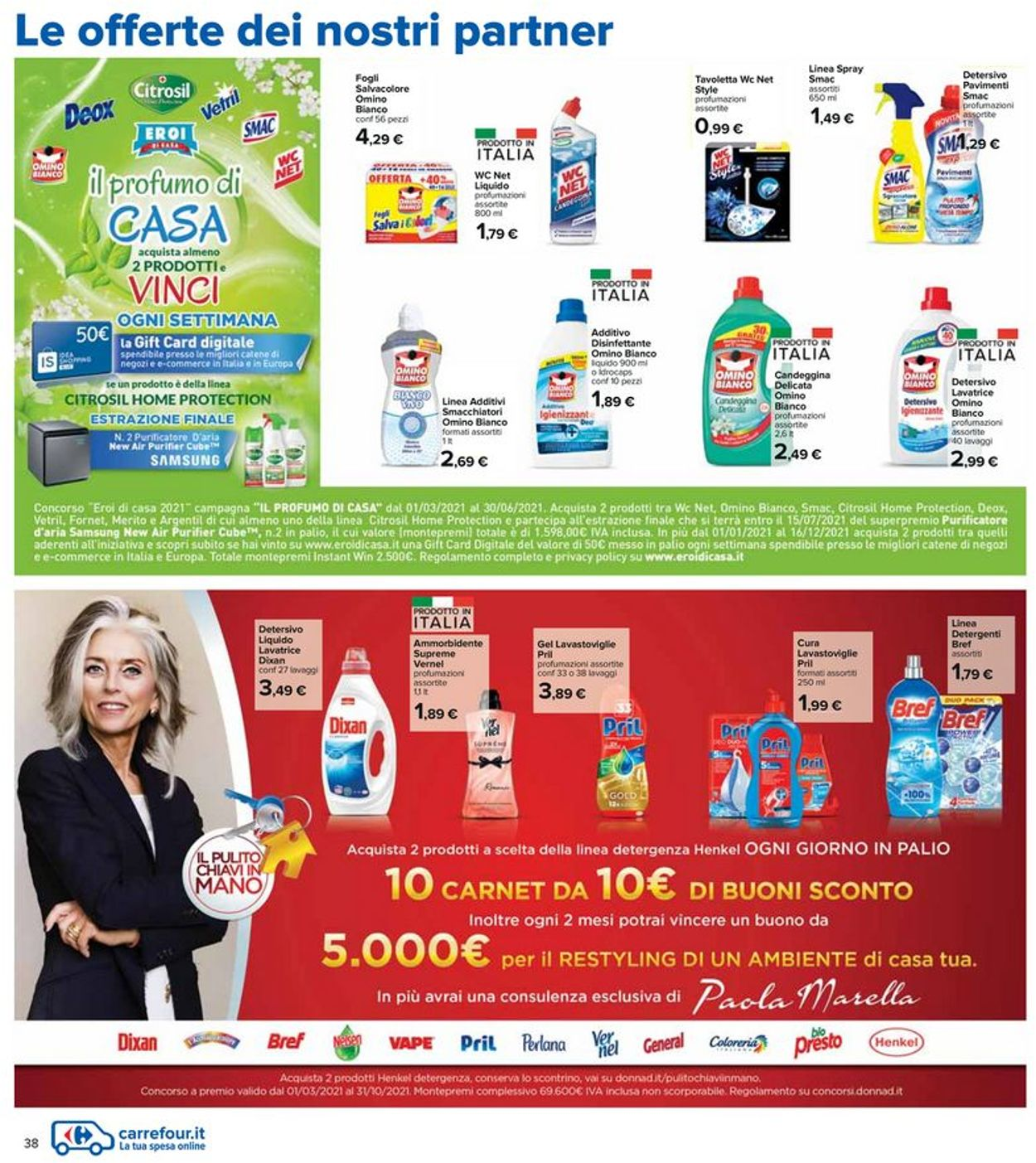 Volantino Carrefour - Offerte 06/05-19/05/2021 (Pagina 38)