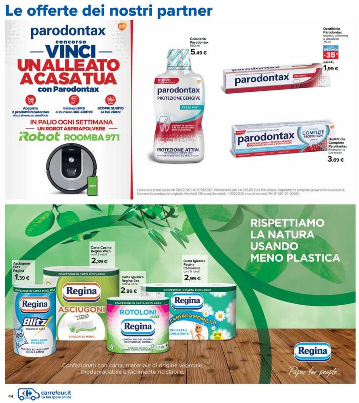 Volantino Carrefour - Offerte 06/05-19/05/2021 (Pagina 44)