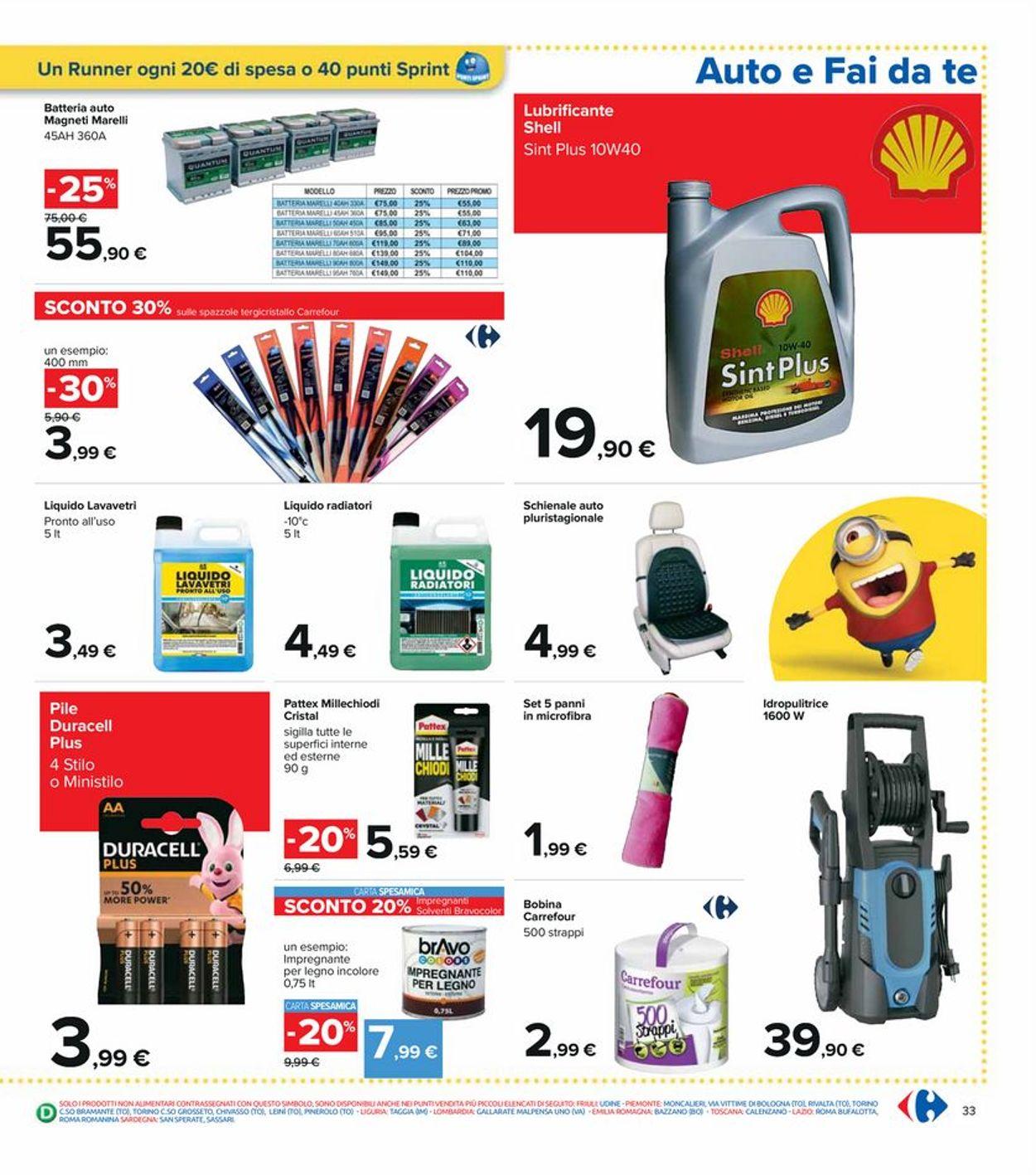 Volantino Carrefour - Offerte 20/05-02/06/2021 (Pagina 33)