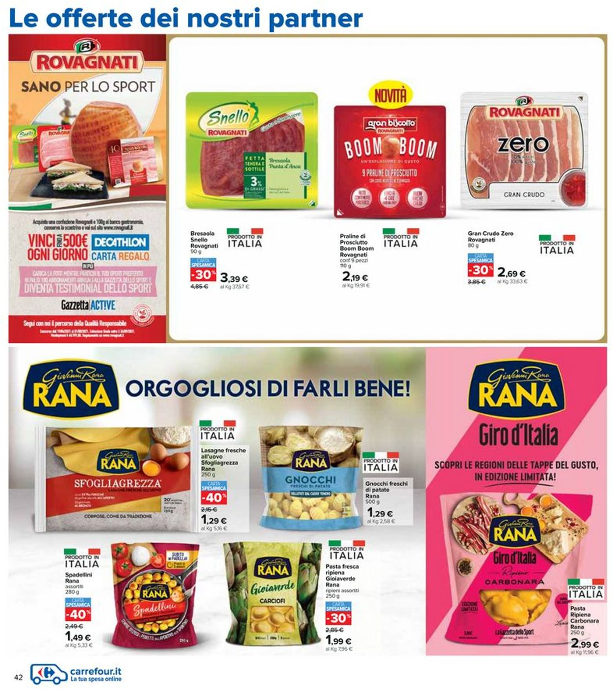 Volantino Carrefour - Offerte 20/05-02/06/2021 (Pagina 42)