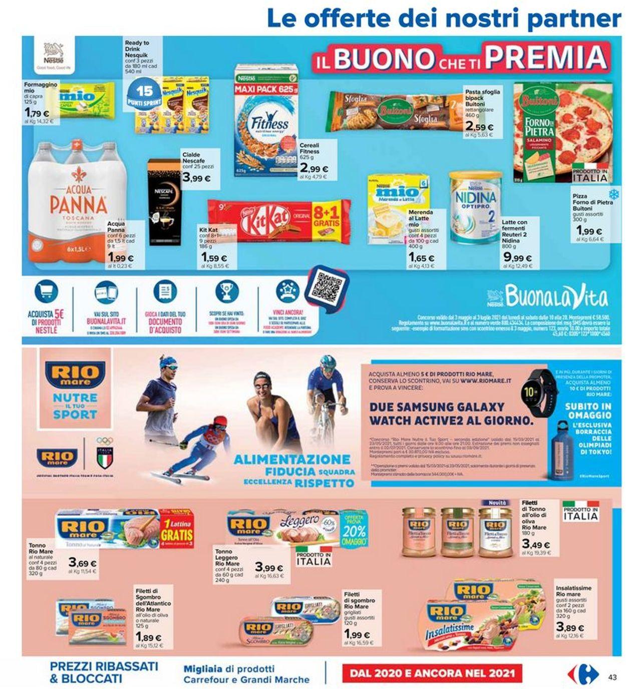 Volantino Carrefour - Offerte 20/05-02/06/2021 (Pagina 43)
