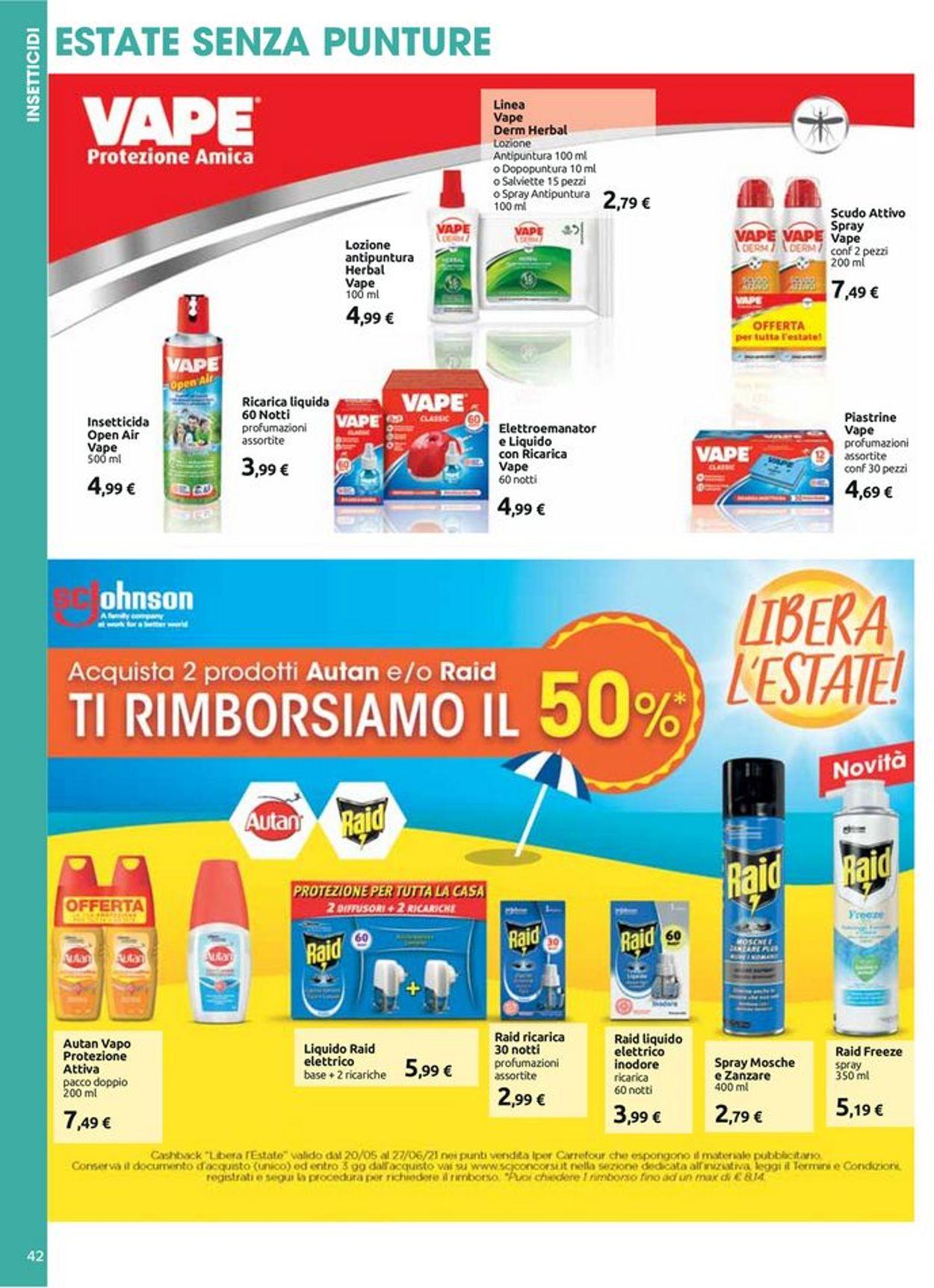 Volantino Carrefour - Offerte 20/05-27/05/2021 (Pagina 42)
