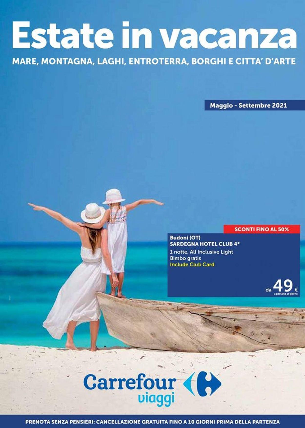Volantino Carrefour - Offerte 01/05-30/09/2021