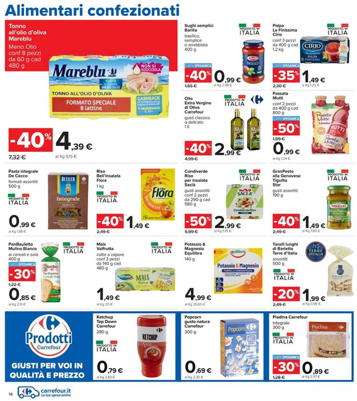 Volantino Carrefour - Offerte 03/06-16/06/2021 (Pagina 14)