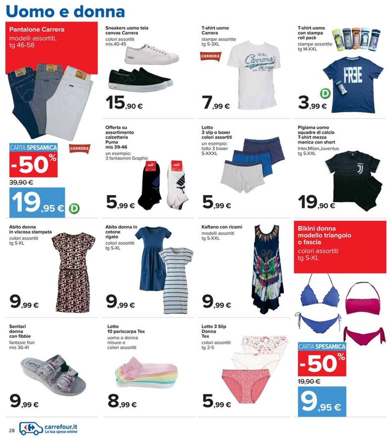 Volantino Carrefour - Offerte 03/06-16/06/2021 (Pagina 28)