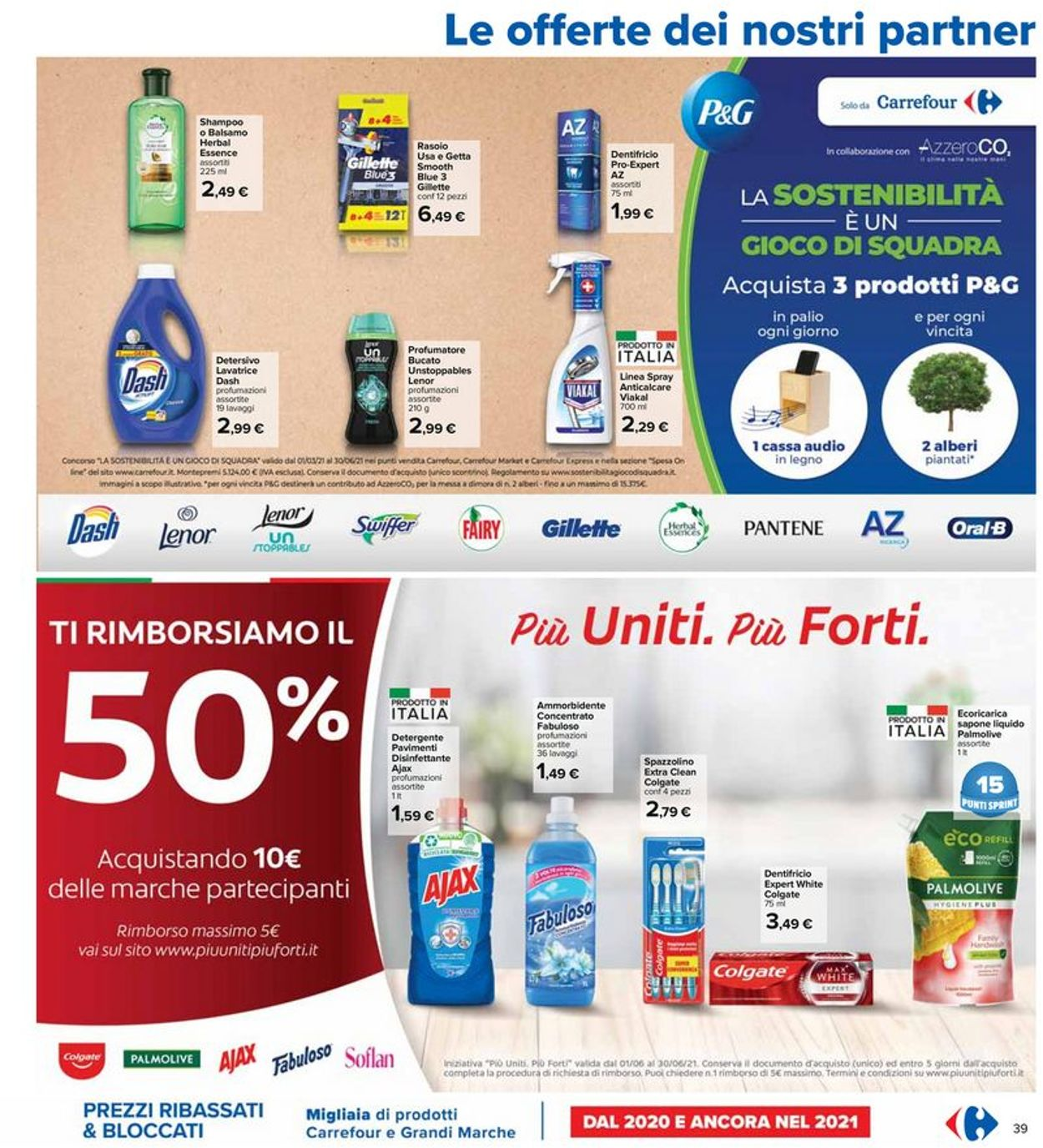 Volantino Carrefour - Offerte 03/06-16/06/2021 (Pagina 39)