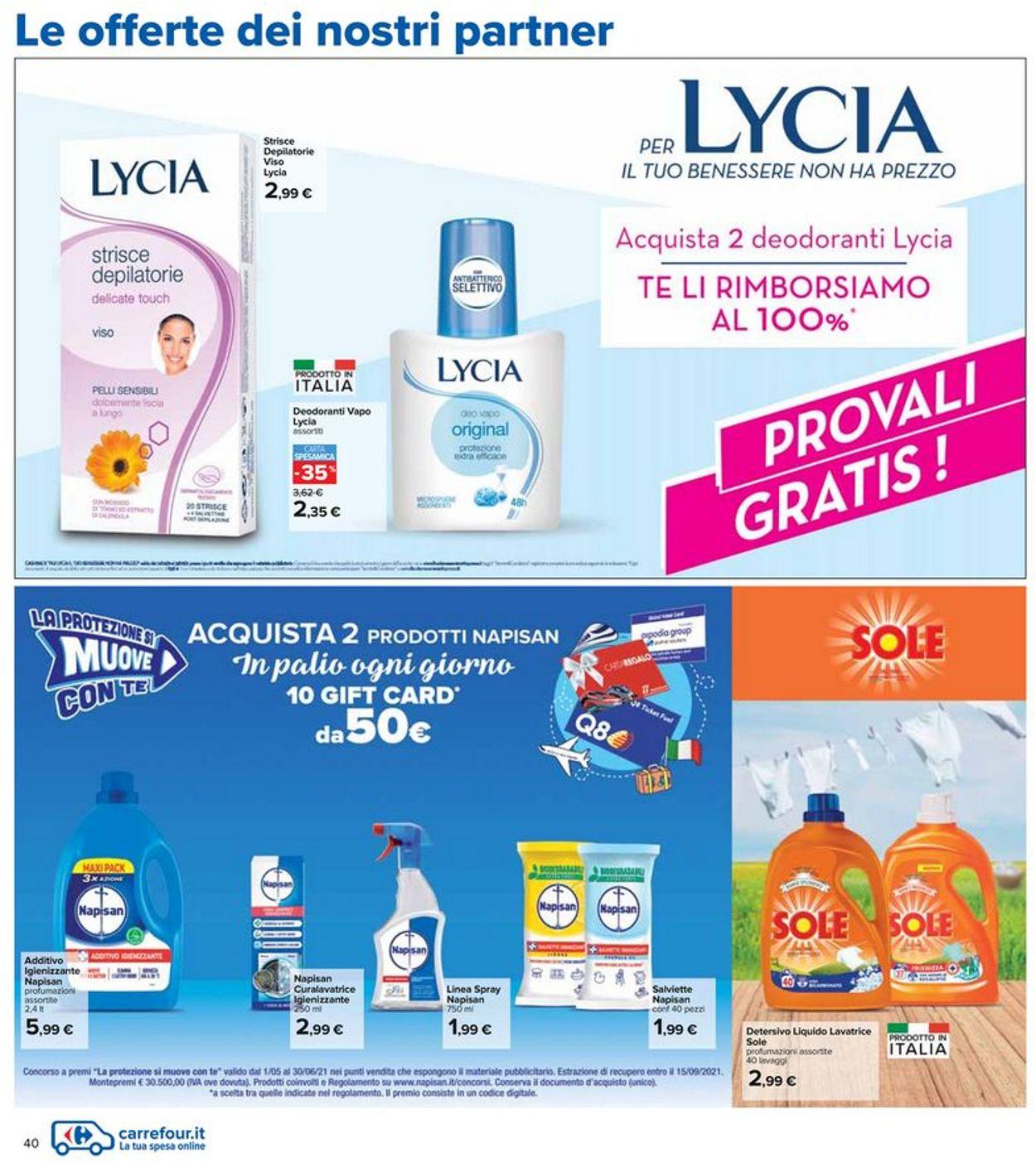 Volantino Carrefour - Offerte 03/06-16/06/2021 (Pagina 40)