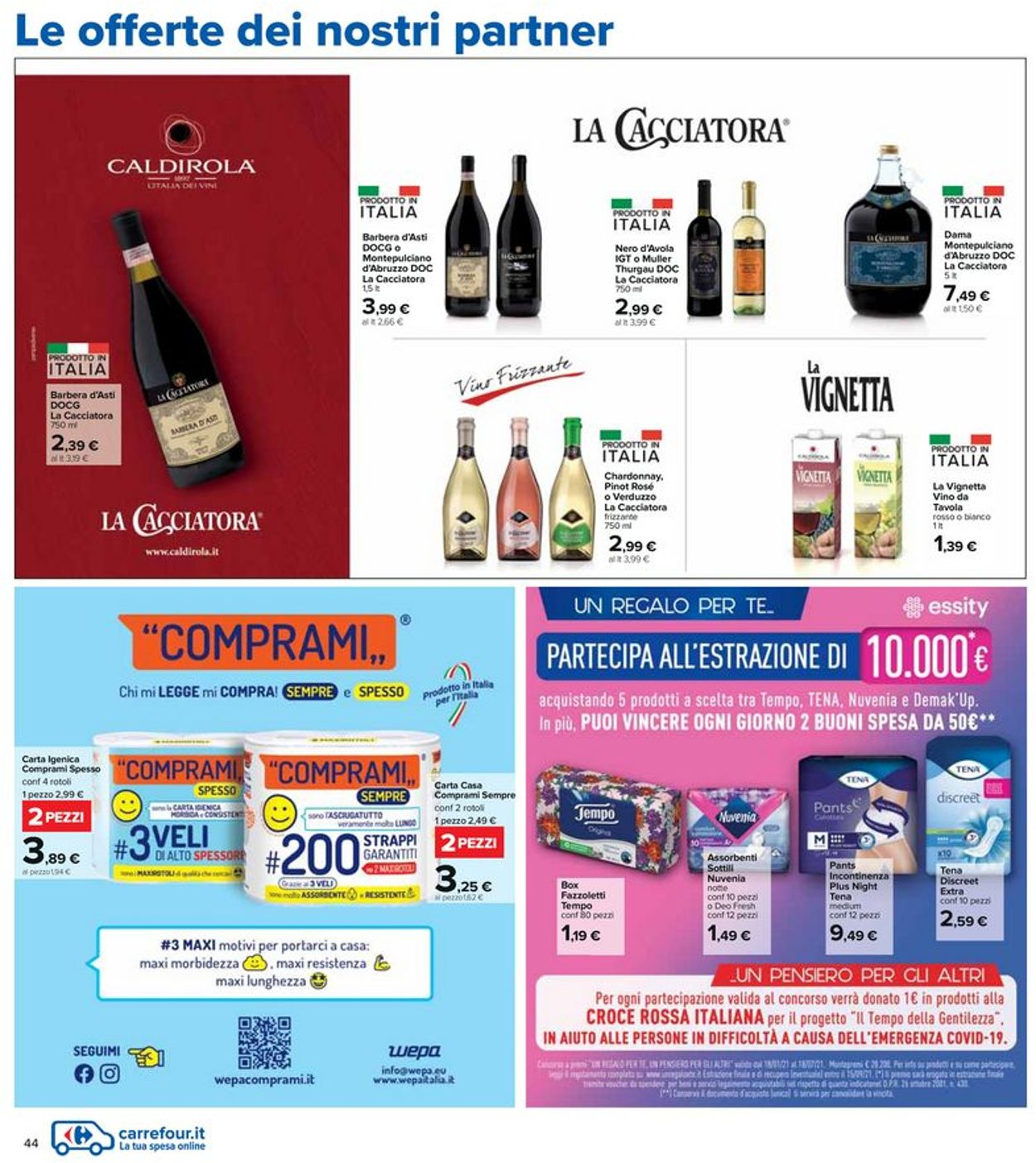 Volantino Carrefour - Offerte 03/06-16/06/2021 (Pagina 44)