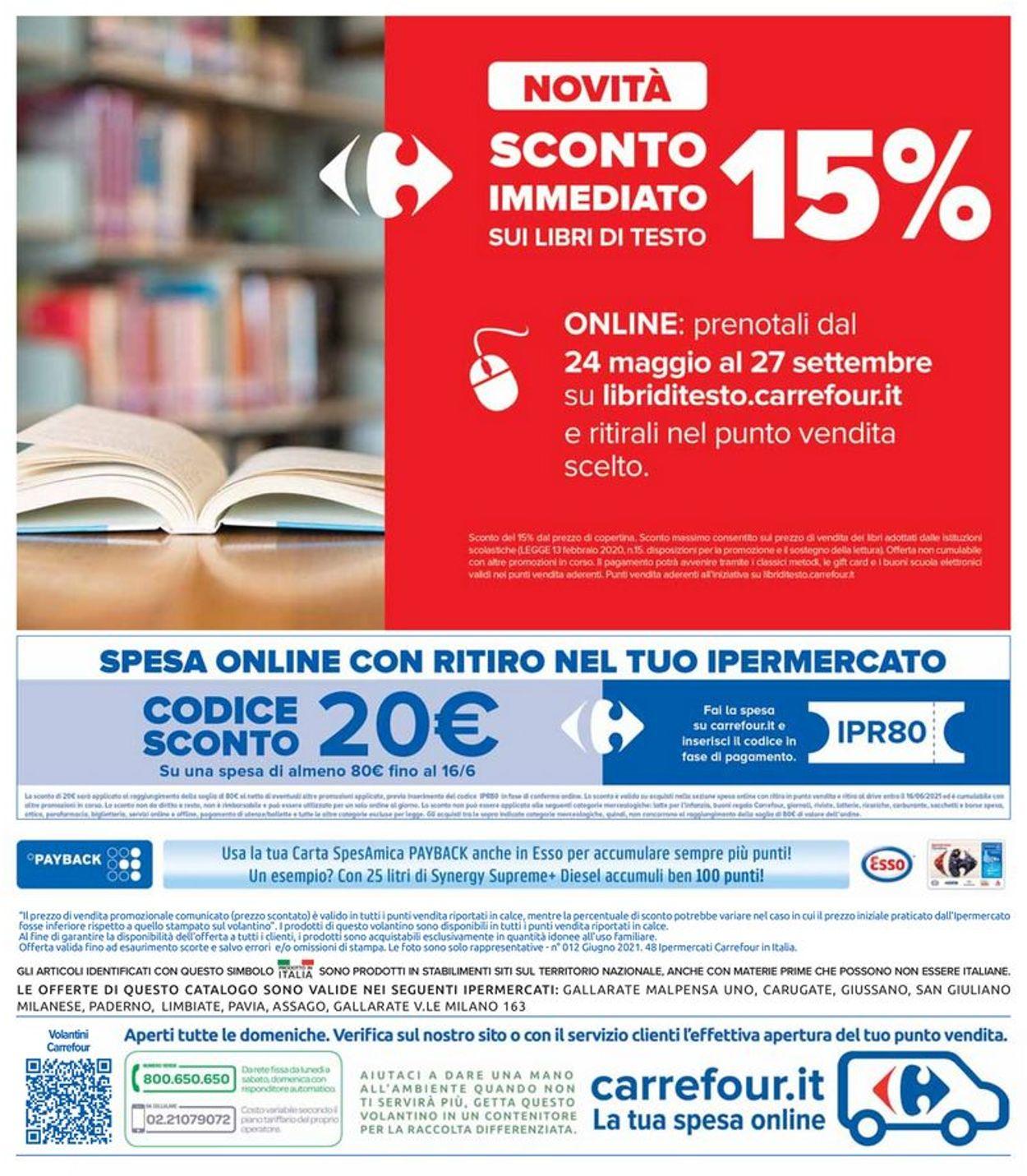 Volantino Carrefour - Offerte 03/06-16/06/2021 (Pagina 46)
